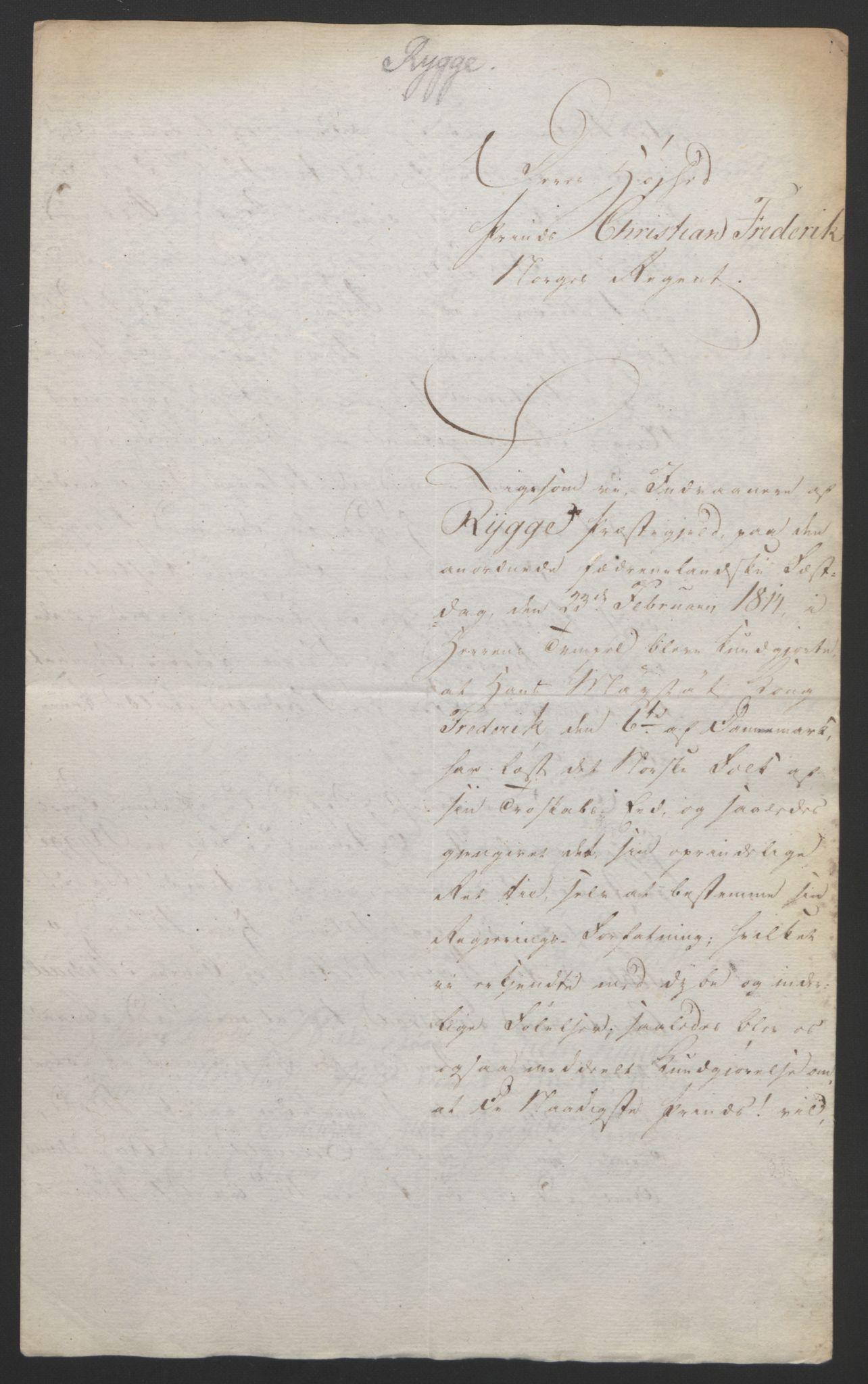 RA, Statsrådssekretariatet, D/Db/L0007: Fullmakter for Eidsvollsrepresentantene i 1814. , 1814, s. 161