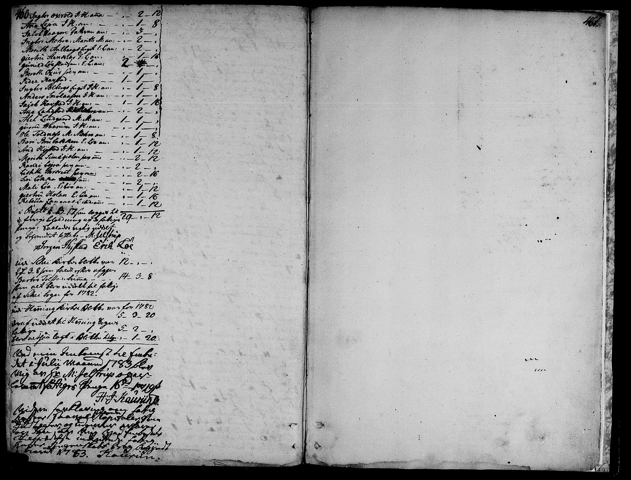 SAT, Ministerialprotokoller, klokkerbøker og fødselsregistre - Nord-Trøndelag, 735/L0331: Ministerialbok nr. 735A02, 1762-1794, s. 460-461