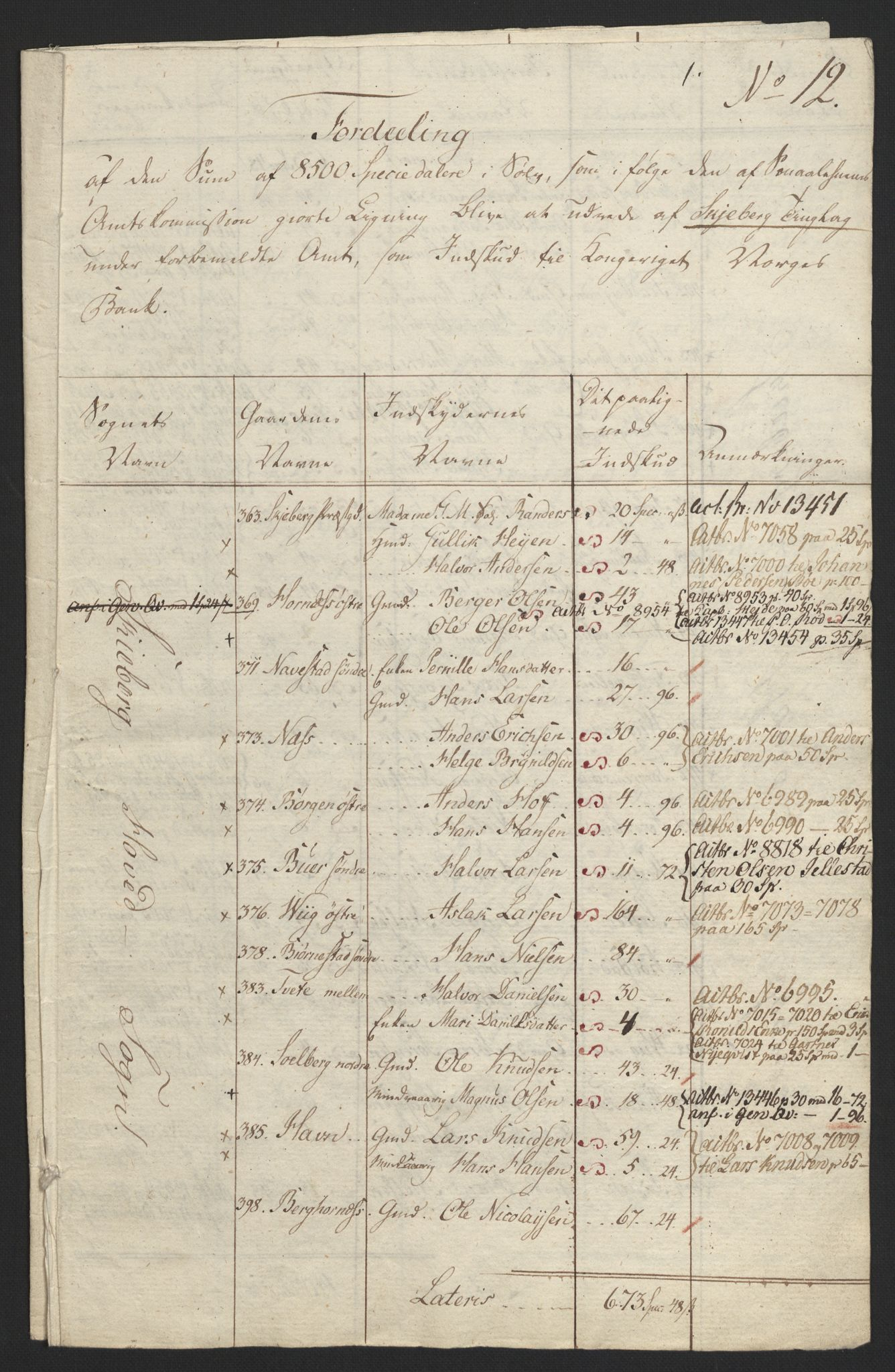 NOBA, Norges Bank/Sølvskatten 1816*, 1816, s. 19
