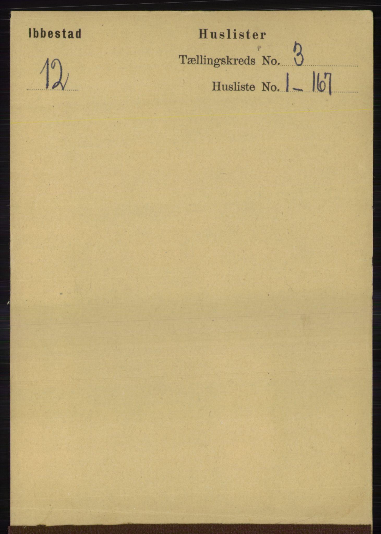 RA, Folketelling 1891 for 1917 Ibestad herred, 1891, s. 1545