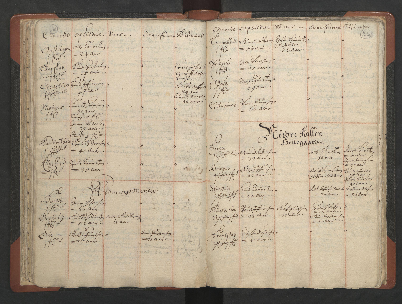 RA, Sogneprestenes manntall 1664-1666, nr. 7: Hadeland prosti, 1664-1666, s. 161-162