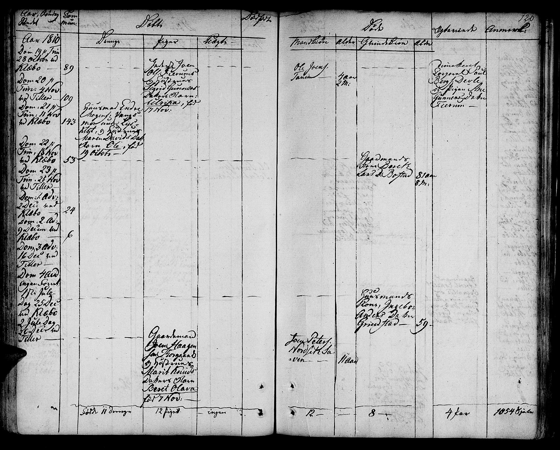 SAT, Ministerialprotokoller, klokkerbøker og fødselsregistre - Sør-Trøndelag, 618/L0438: Ministerialbok nr. 618A03, 1783-1815, s. 120