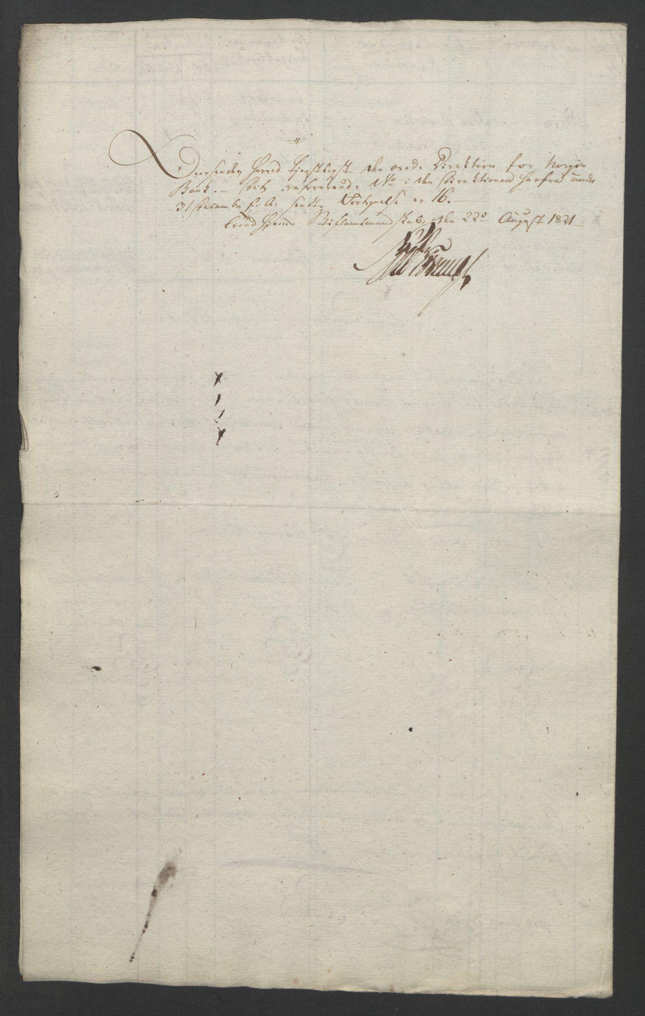 NOBA, Norges Bank/Sølvskatten 1816*, 1816-1822, s. 30