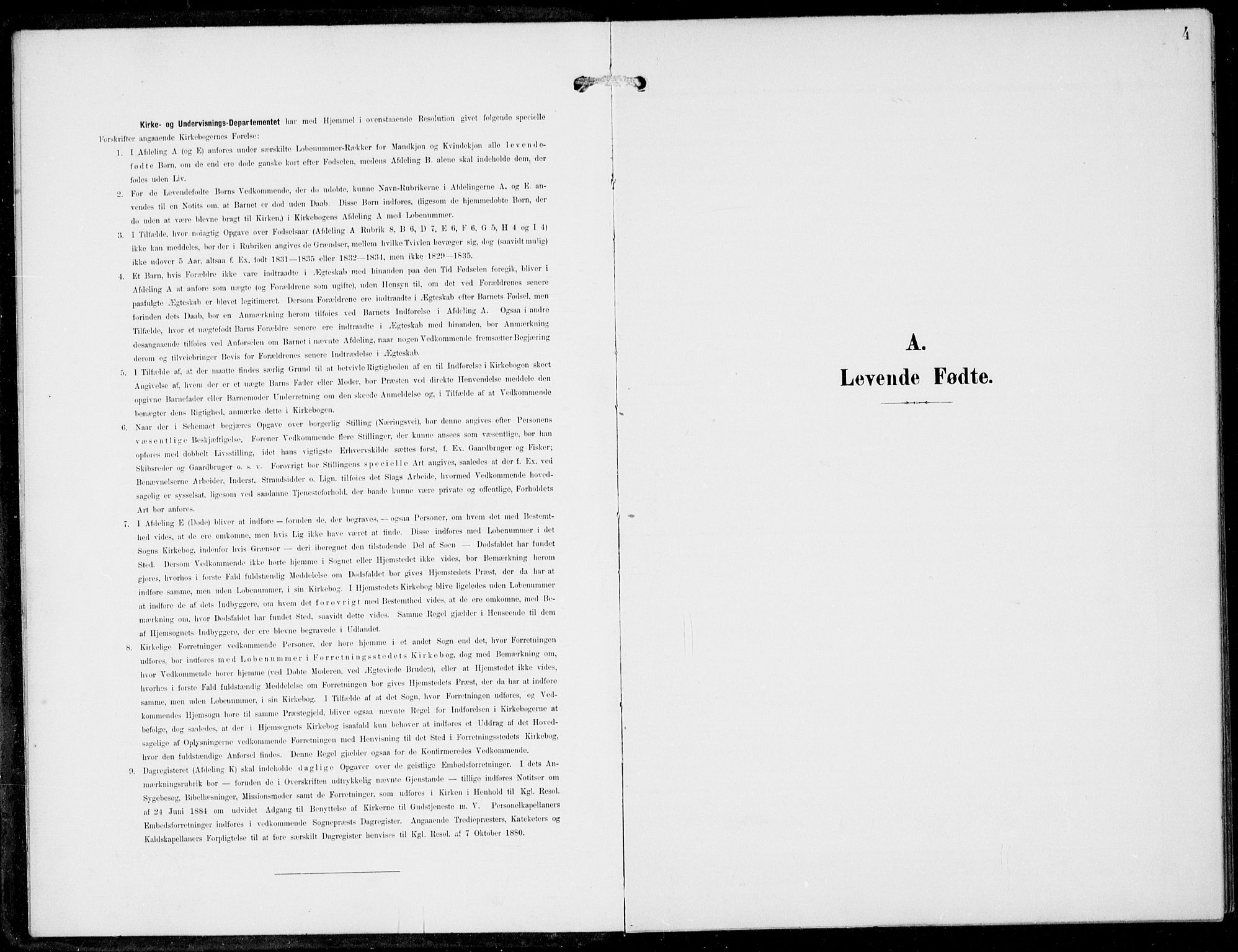 SAB, Haus Sokneprestembete, H/Haa: Ministerialbok nr. B  2, 1899-1912, s. 4