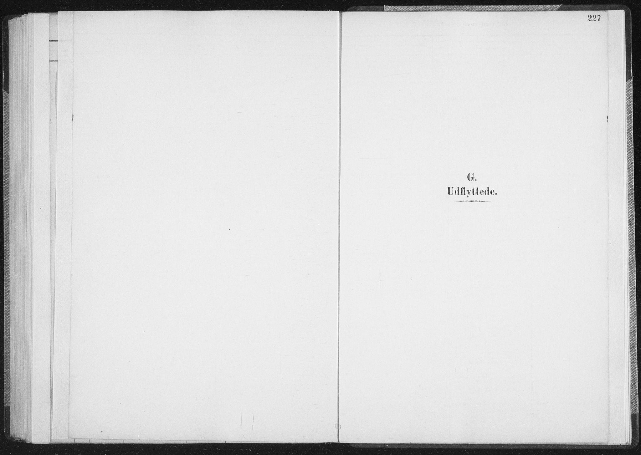 SAT, Ministerialprotokoller, klokkerbøker og fødselsregistre - Nordland, 898/L1422: Ministerialbok nr. 898A02, 1887-1908, s. 227