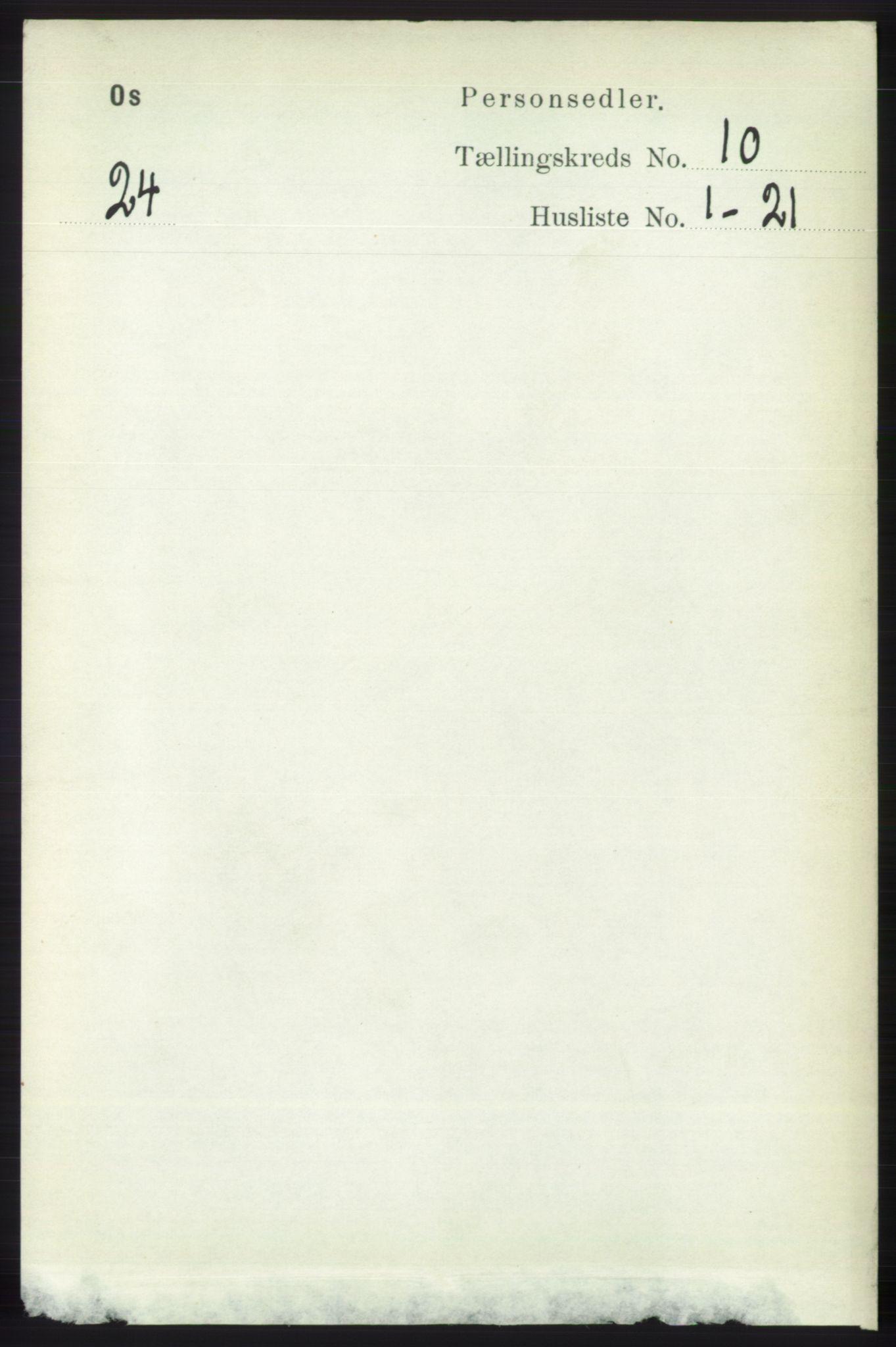 RA, Folketelling 1891 for 1243 Os herred, 1891, s. 2258