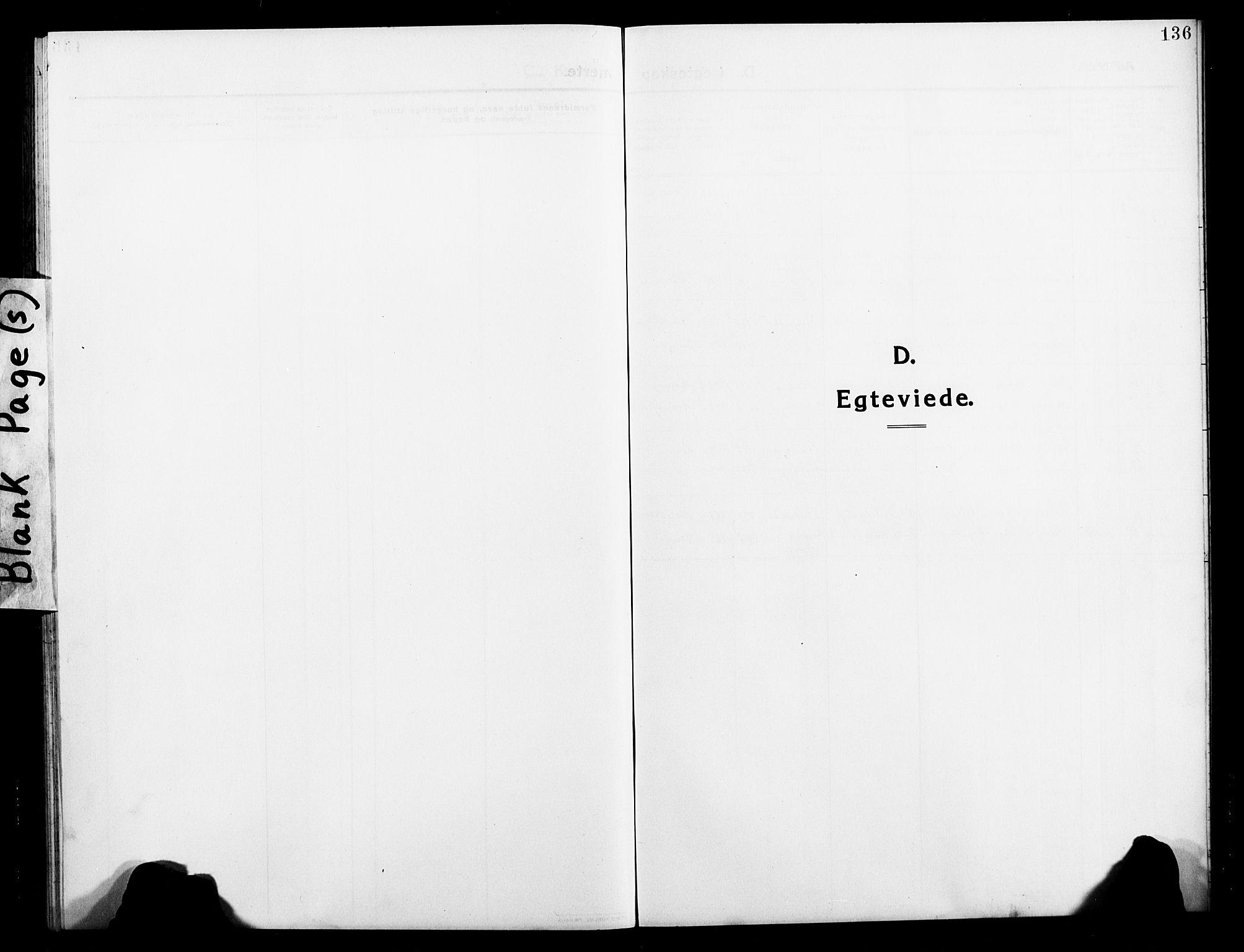 SATØ, Balsfjord sokneprestembete, Klokkerbok nr. 4, 1910-1926, s. 136