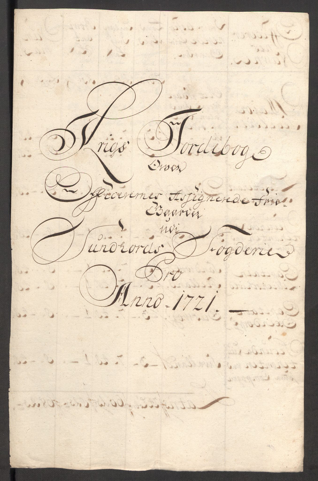 RA, Rentekammeret inntil 1814, Reviderte regnskaper, Fogderegnskap, R48/L3000: Fogderegnskap Sunnhordland og Hardanger, 1721, s. 197