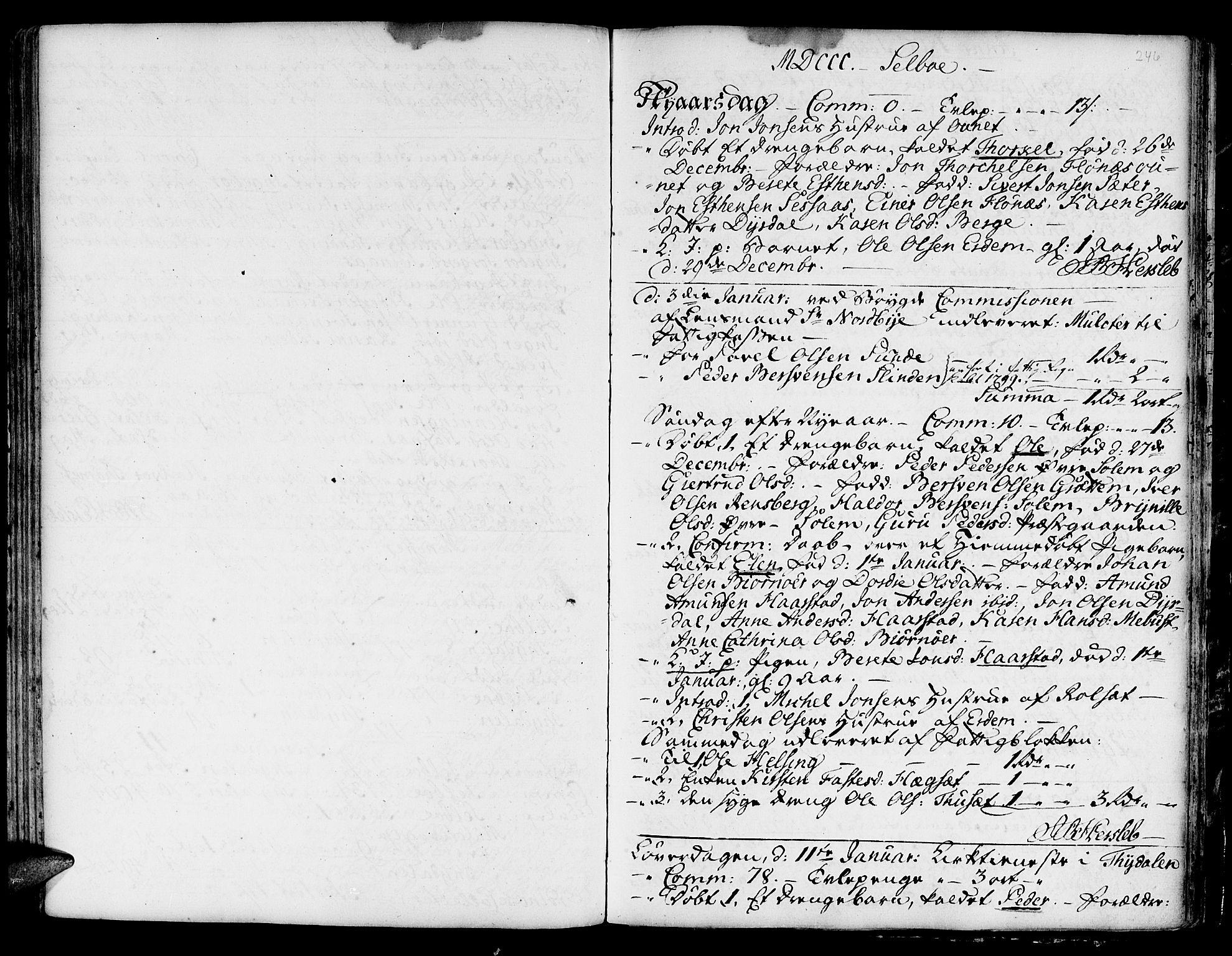 SAT, Ministerialprotokoller, klokkerbøker og fødselsregistre - Sør-Trøndelag, 695/L1138: Ministerialbok nr. 695A02 /1, 1757-1801, s. 246
