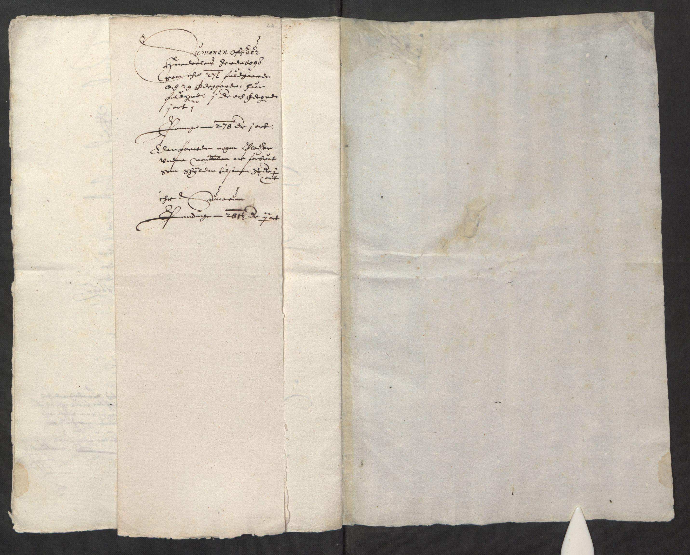 RA, Stattholderembetet 1572-1771, Ek/L0013: Jordebøker til utlikning av rosstjeneste 1624-1626:, 1624-1625, s. 147