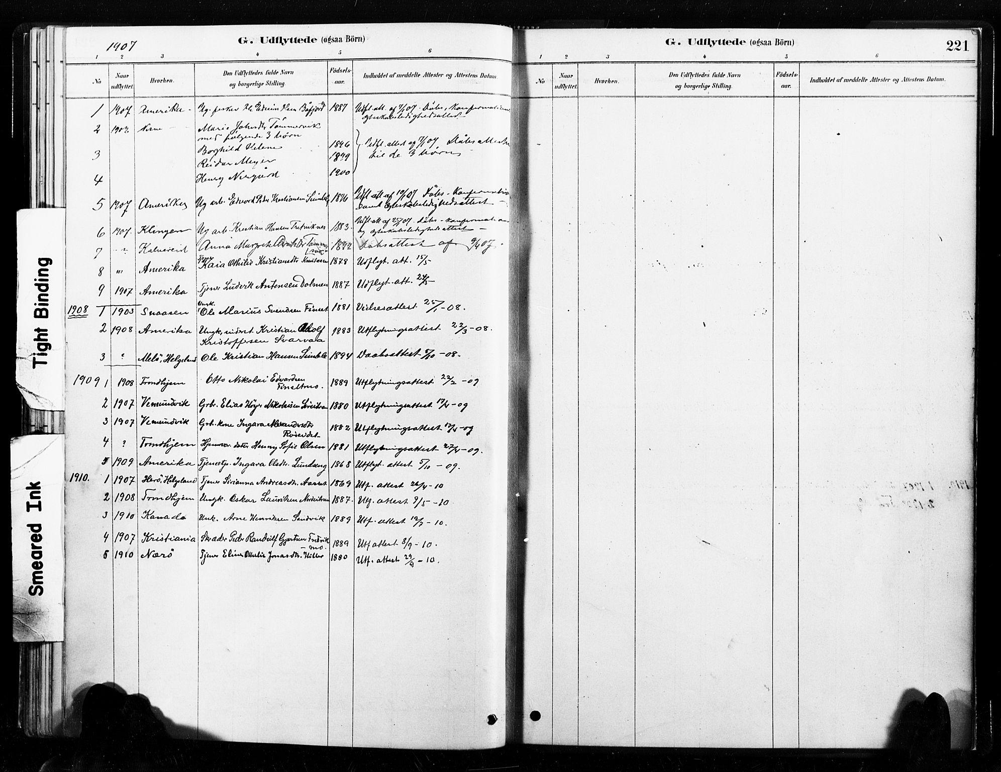 SAT, Ministerialprotokoller, klokkerbøker og fødselsregistre - Nord-Trøndelag, 789/L0705: Ministerialbok nr. 789A01, 1878-1910, s. 221