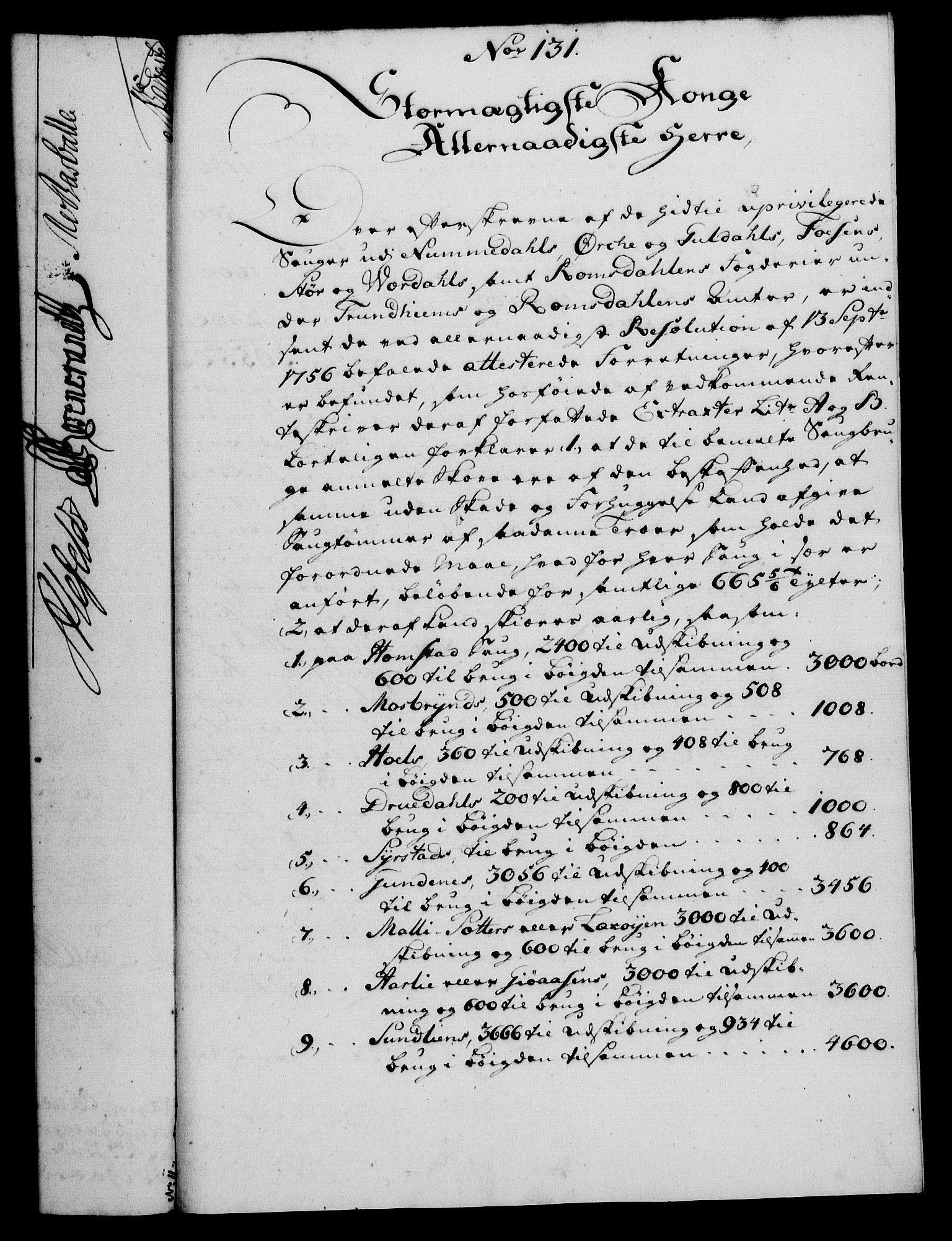 RA, Rentekammeret, Kammerkanselliet, G/Gf/Gfa/L0042: Norsk relasjons- og resolusjonsprotokoll (merket RK 52.42), 1760, s. 475