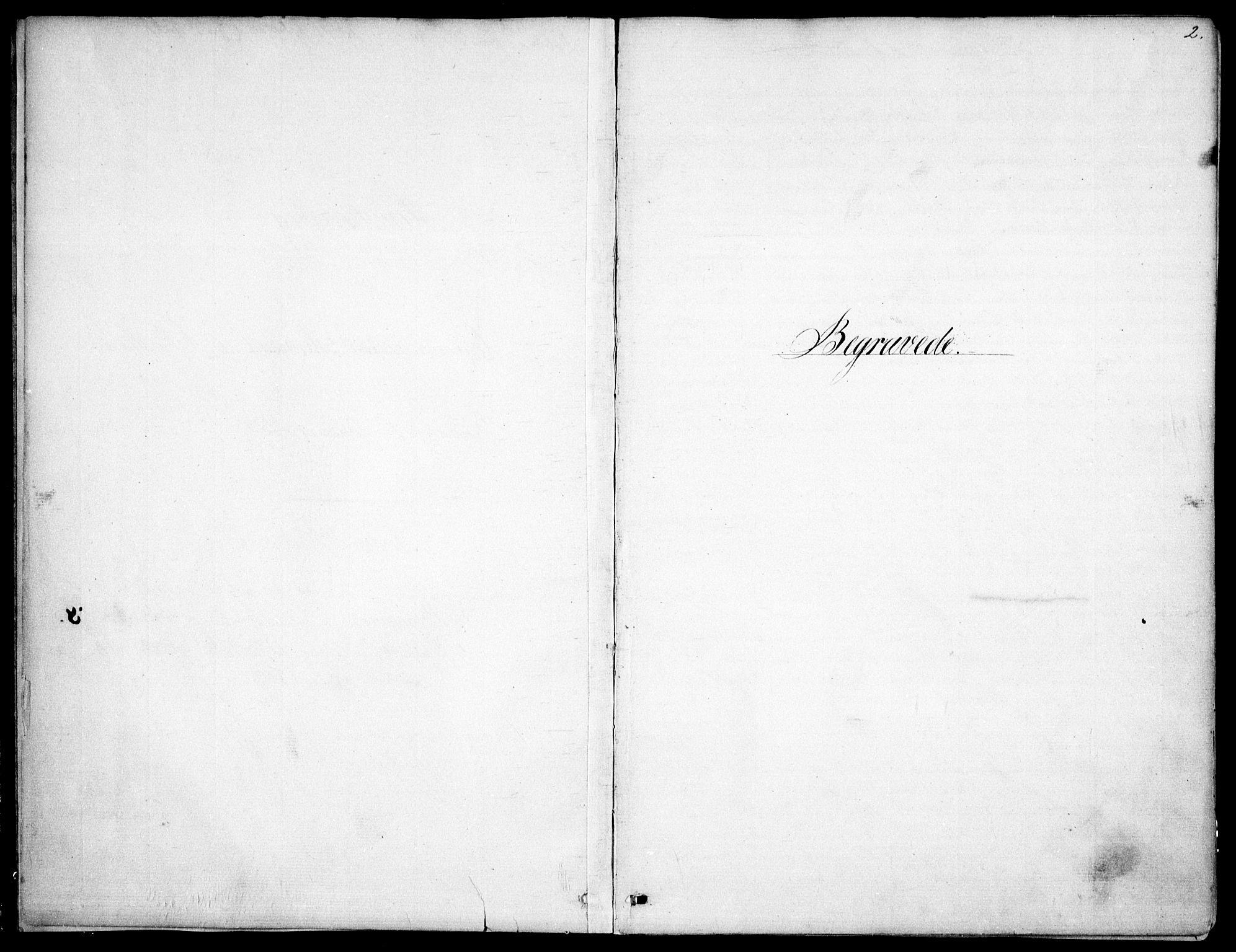 SAO, Garnisonsmenigheten Kirkebøker, F/Fa/L0009: Ministerialbok nr. 9, 1842-1859, s. 2