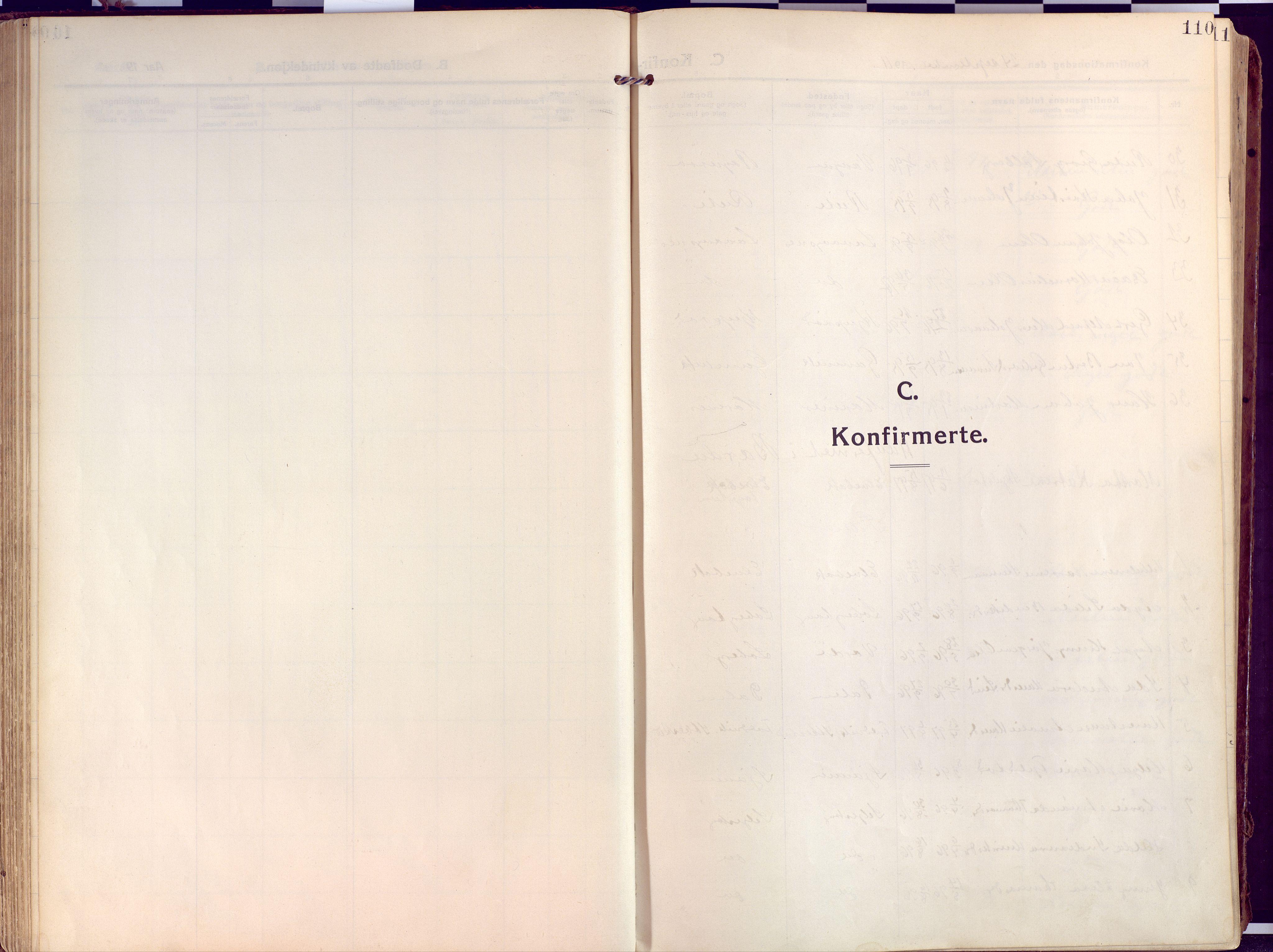SATØ, Salangen sokneprestembete, H/Ha/L0004kirke: Ministerialbok nr. 4, 1912-1927, s. 110
