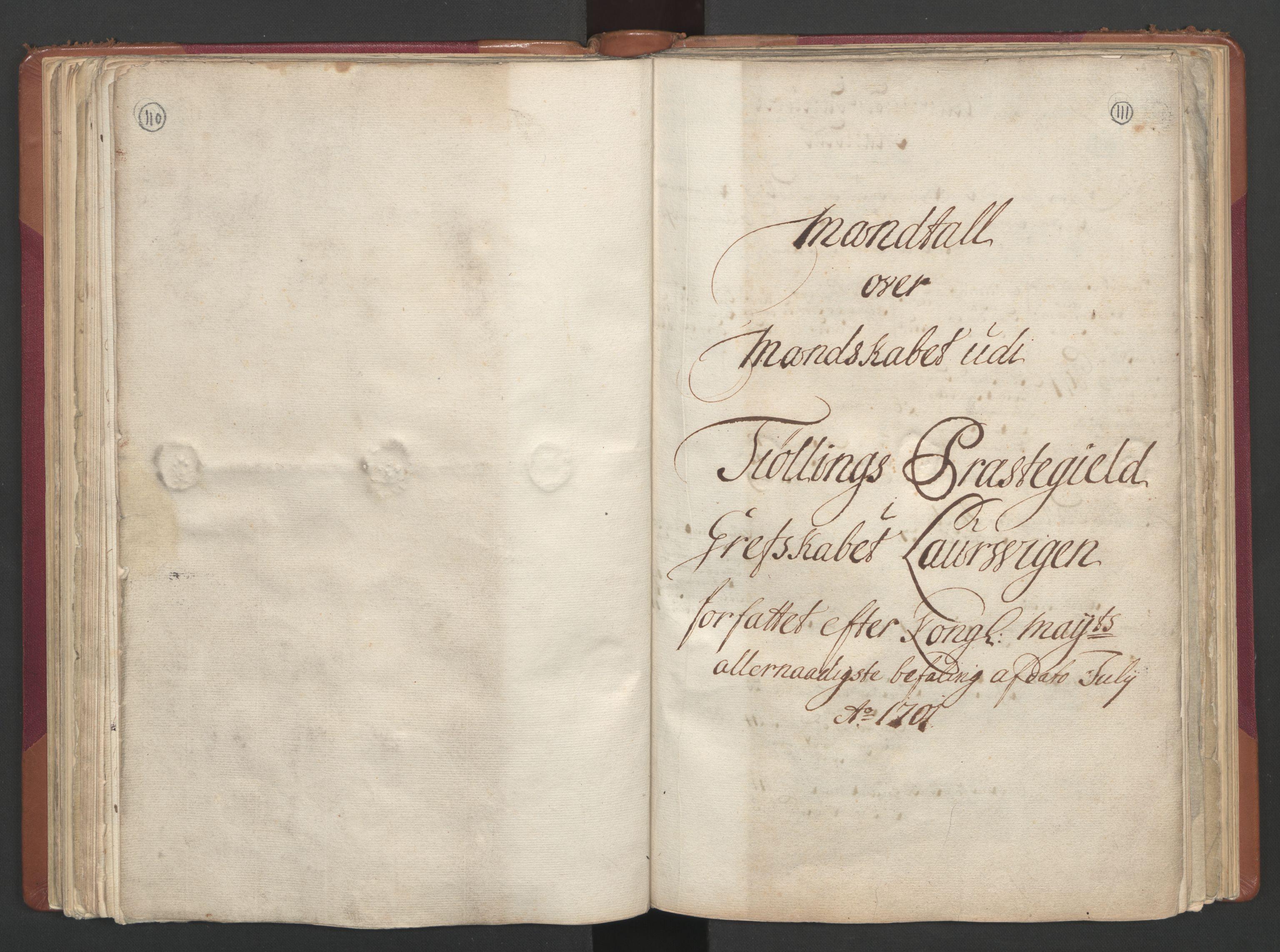 RA, Manntallet 1701, nr. 2: Solør, Odal og Østerdal fogderi og Larvik grevskap, 1701, s. 110-111