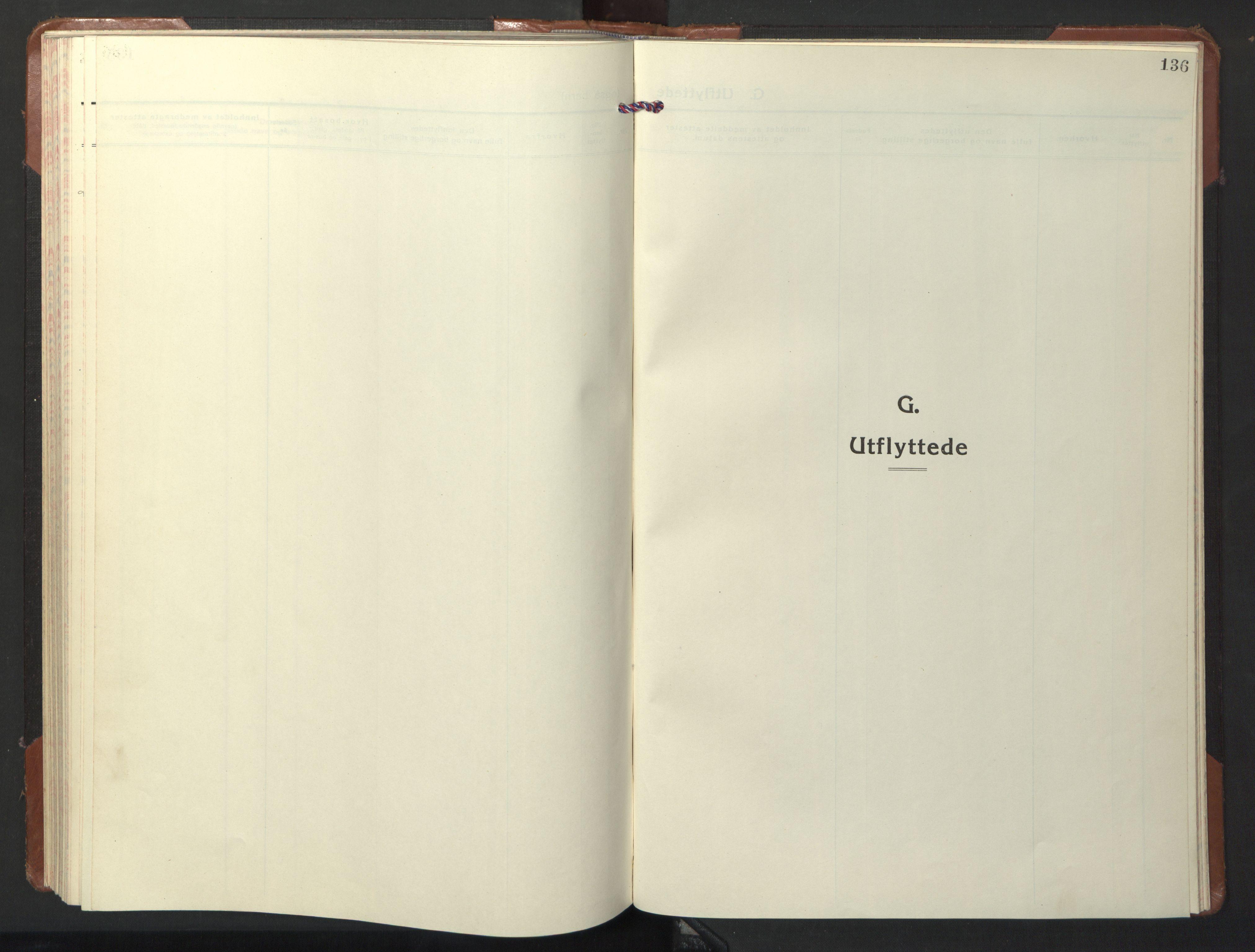 SAT, Ministerialprotokoller, klokkerbøker og fødselsregistre - Nord-Trøndelag, 722/L0227: Klokkerbok nr. 722C03, 1928-1958, s. 136