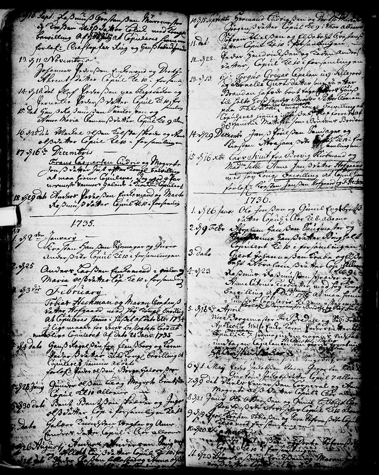 SAKO, Skien kirkebøker, F/Fa/L0002: Ministerialbok nr. 2, 1716-1757, s. 37