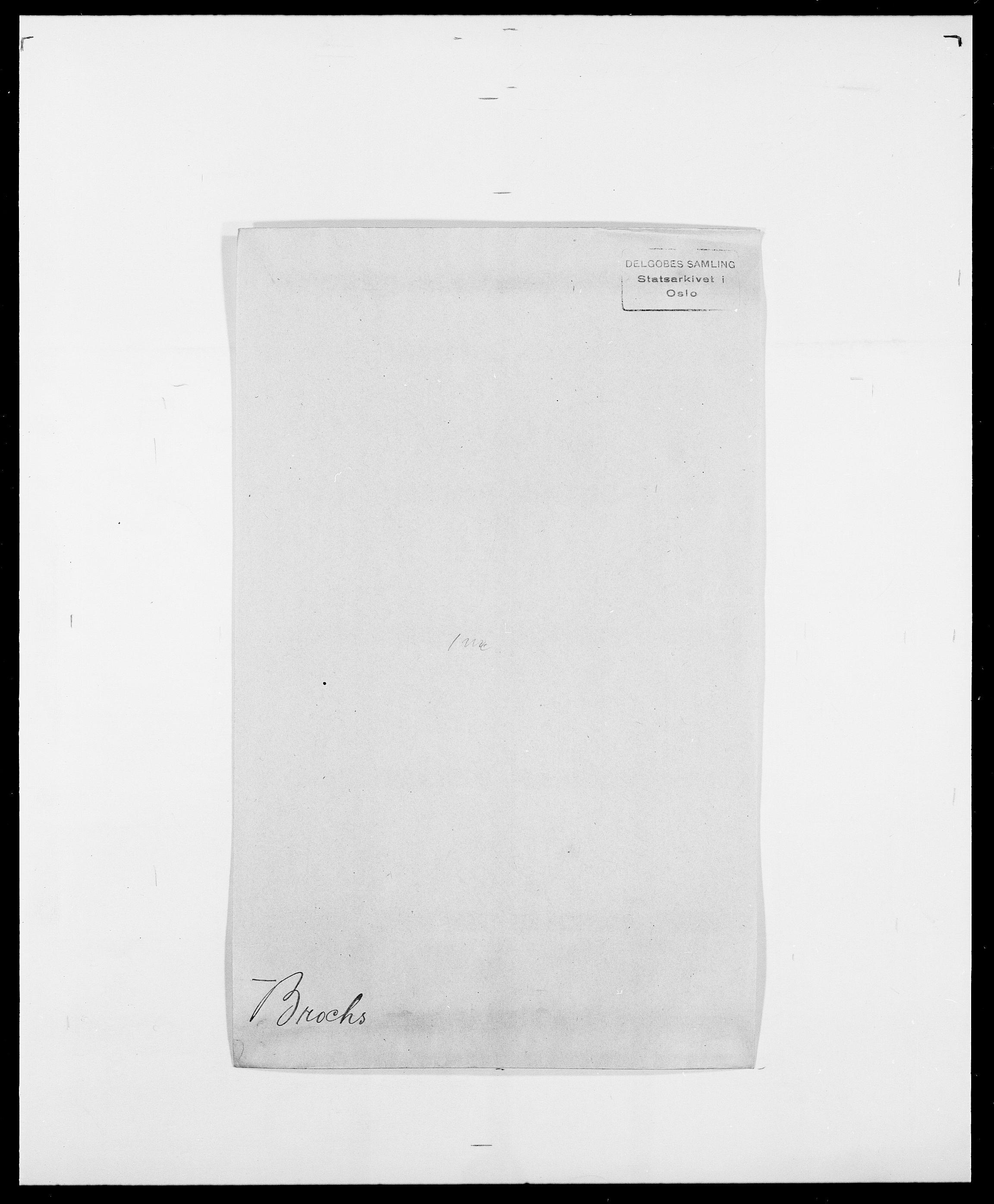 SAO, Delgobe, Charles Antoine - samling, D/Da/L0006: Brambani - Brønø, s. 466