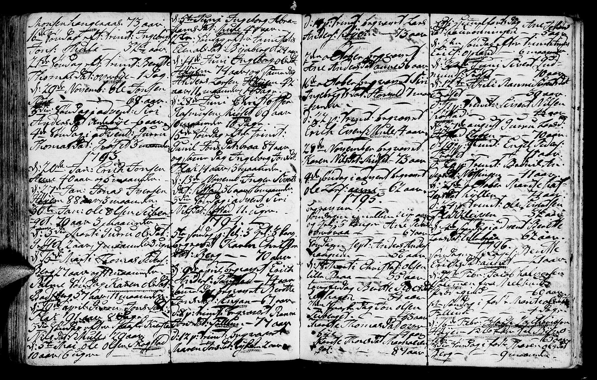 SAT, Ministerialprotokoller, klokkerbøker og fødselsregistre - Sør-Trøndelag, 612/L0370: Ministerialbok nr. 612A04, 1754-1802, s. 159