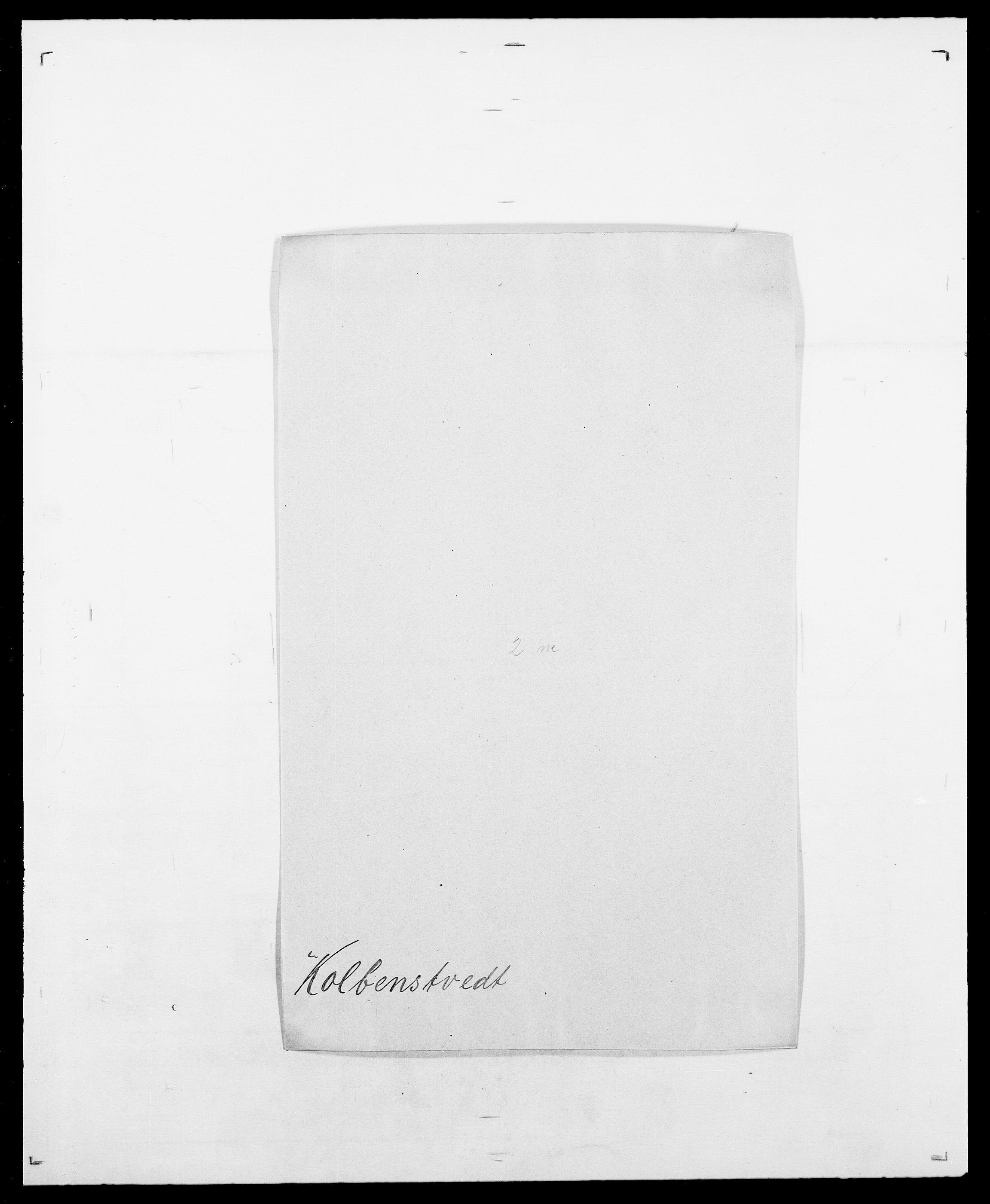 SAO, Delgobe, Charles Antoine - samling, D/Da/L0021: Klagenberg - Kristoft, s. 484
