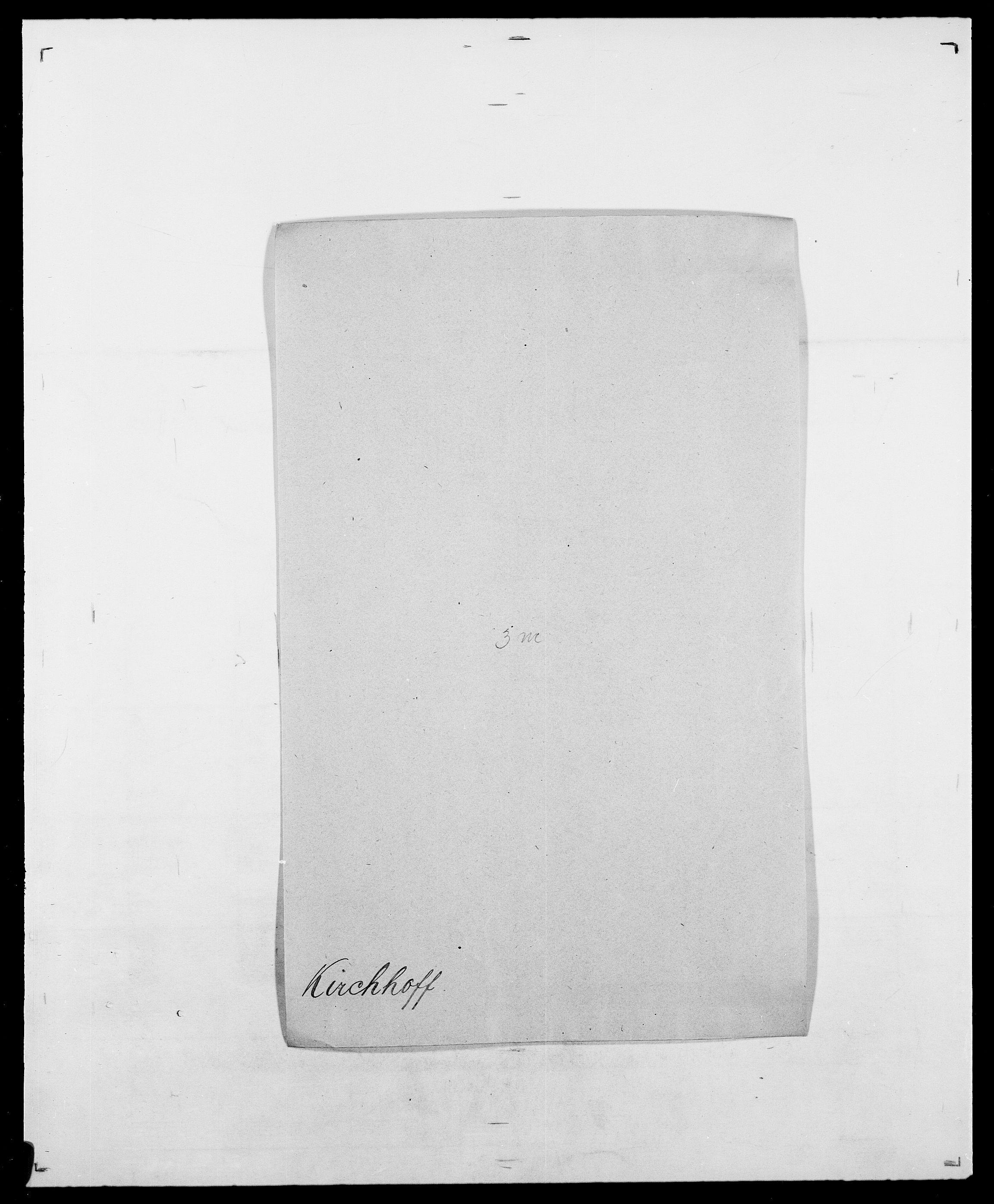 SAO, Delgobe, Charles Antoine - samling, D/Da/L0020: Irgens - Kjøsterud, s. 640