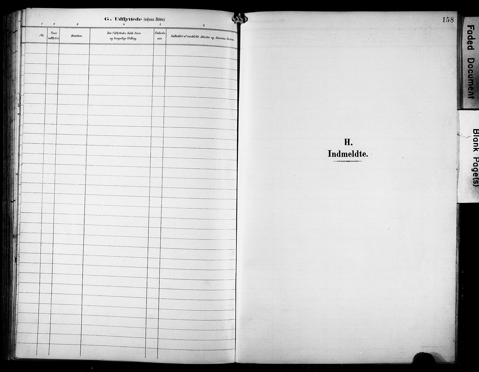SAST, Avaldsnes sokneprestkontor, H/Ha/Haa/L0016: Ministerialbok nr. A 16, 1893-1918, s. 158