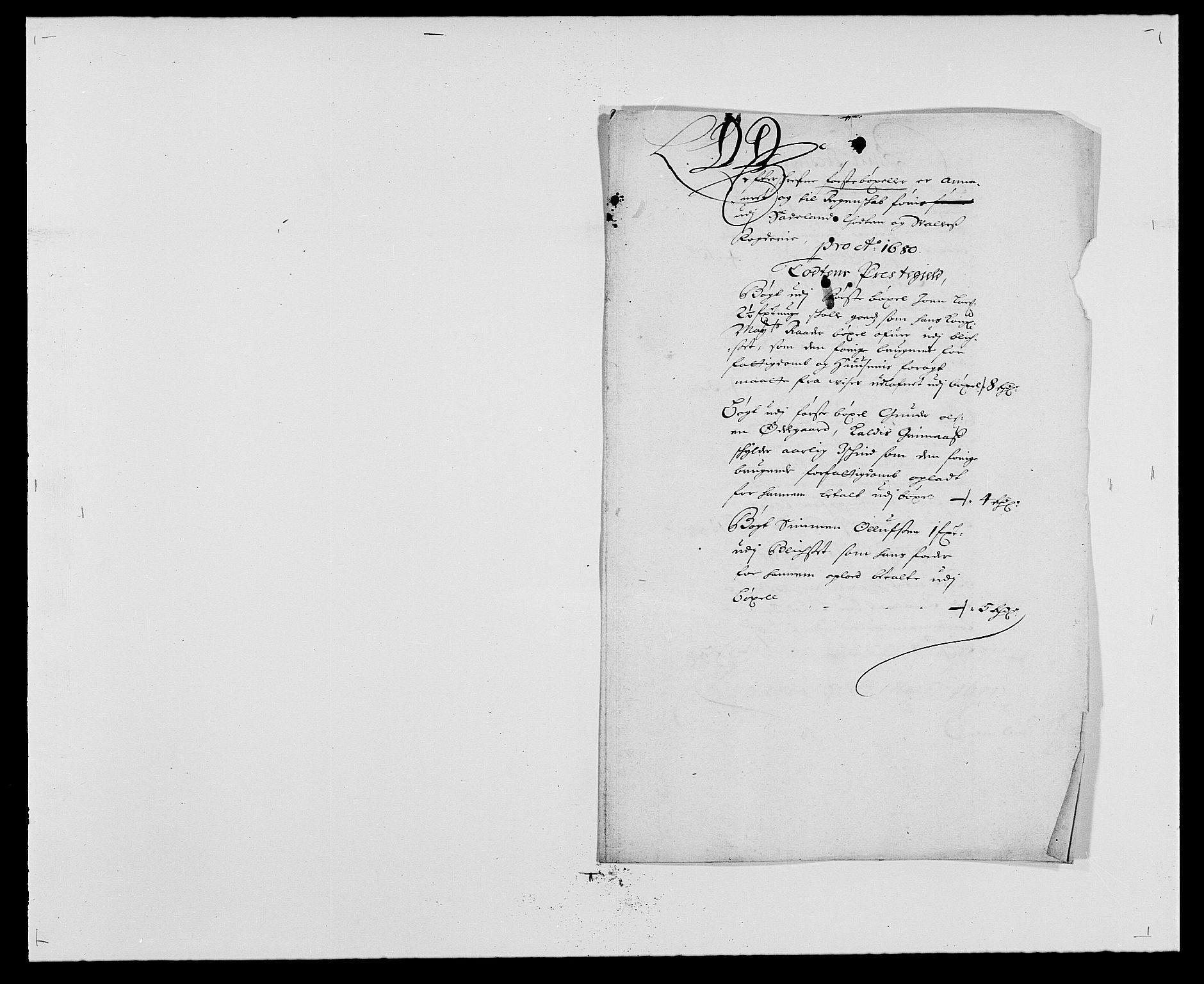 RA, Rentekammeret inntil 1814, Reviderte regnskaper, Fogderegnskap, R18/L1275: Fogderegnskap Hadeland, Toten og Valdres, 1680, s. 169