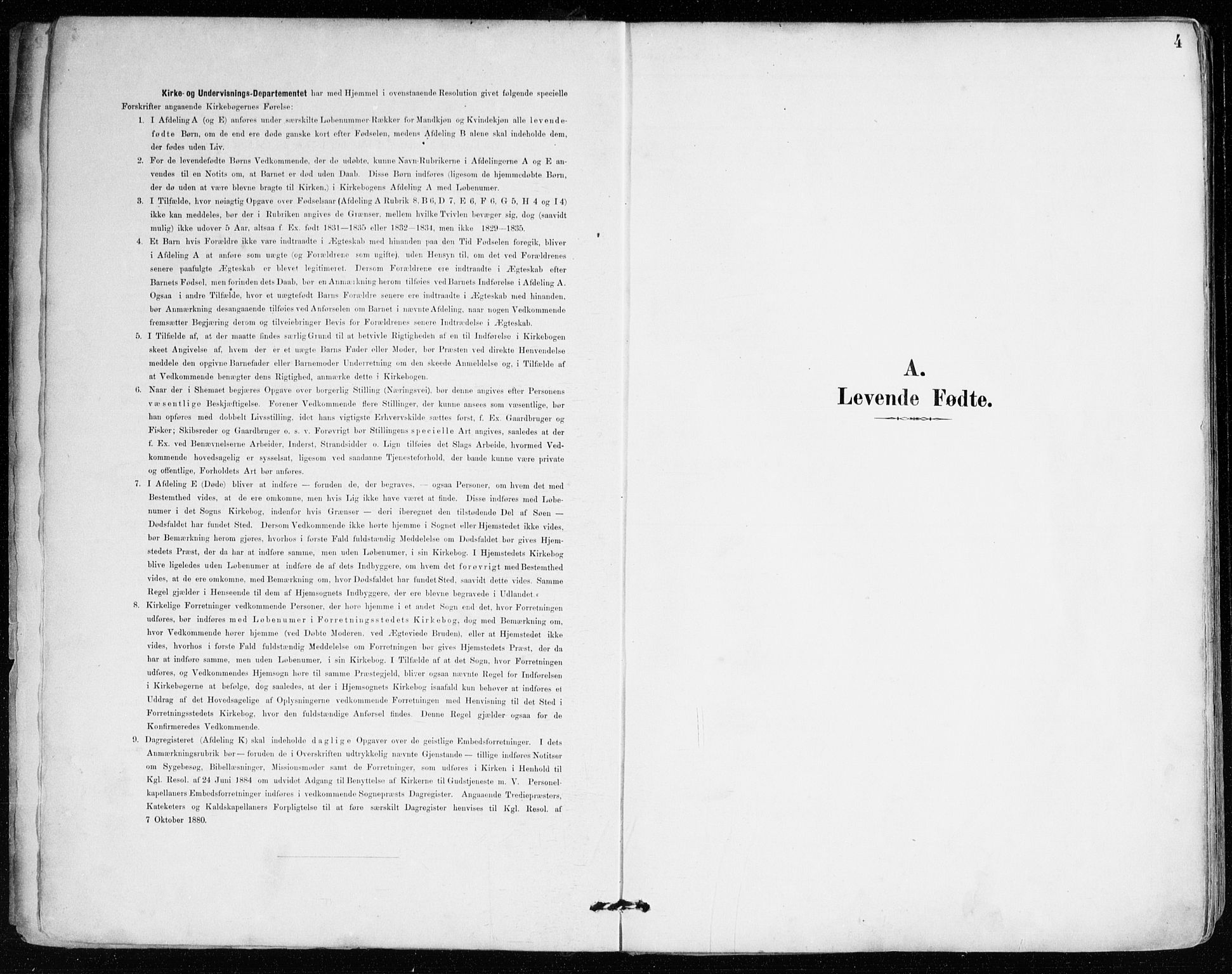 SAB, Mariakirken Sokneprestembete, H/Haa/L0008: Ministerialbok nr. A 8, 1893-1942, s. 4