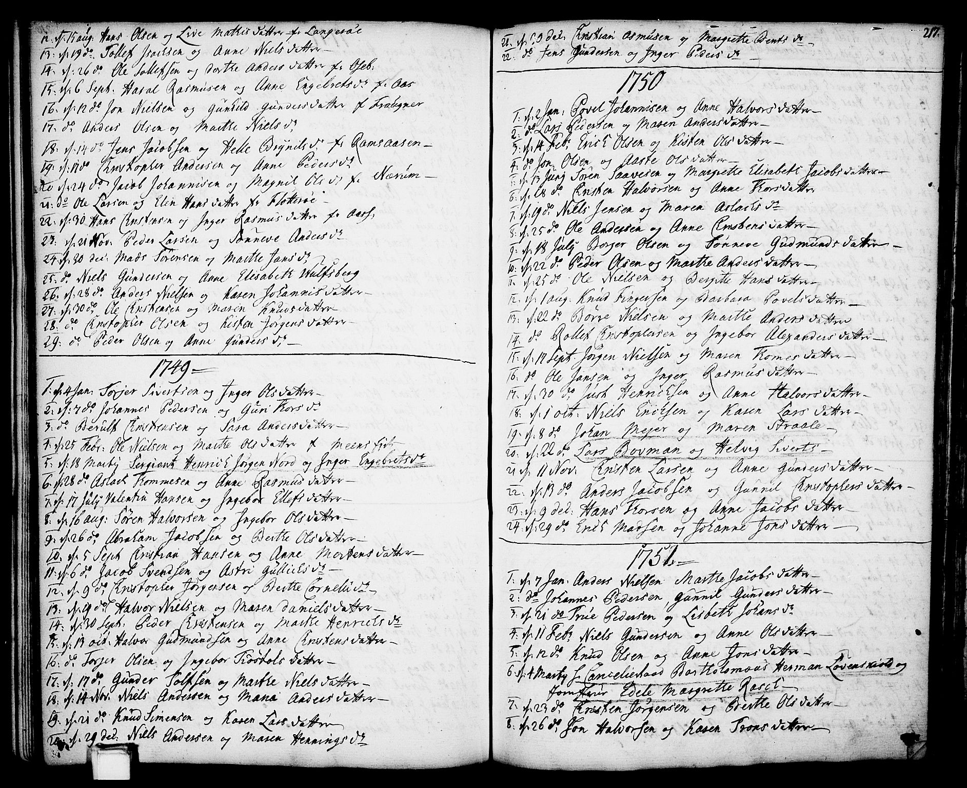 SAKO, Gjerpen kirkebøker, F/Fa/L0002: Ministerialbok nr. 2, 1747-1795, s. 217