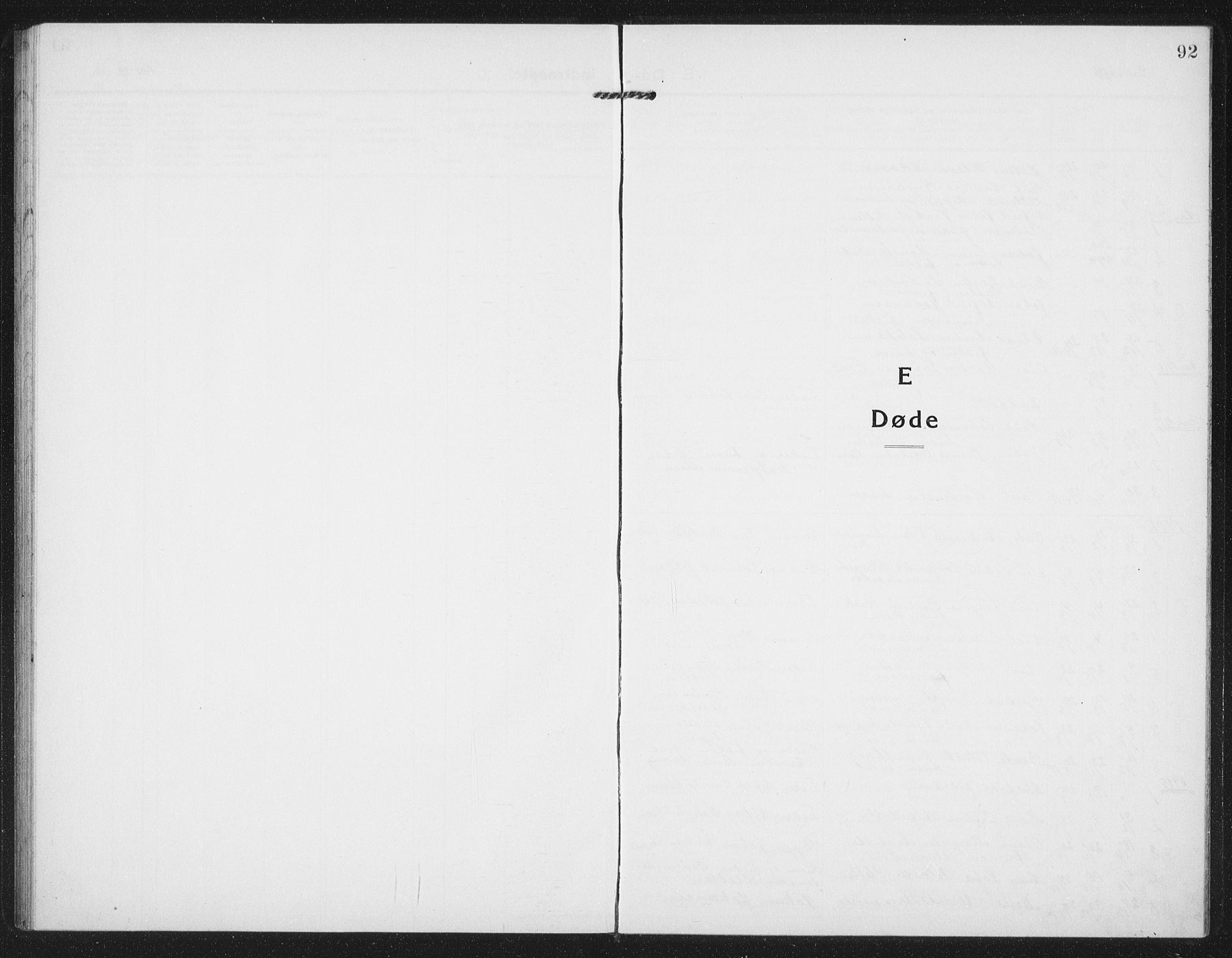 SAT, Ministerialprotokoller, klokkerbøker og fødselsregistre - Sør-Trøndelag, 659/L0750: Klokkerbok nr. 659C07, 1914-1940, s. 92