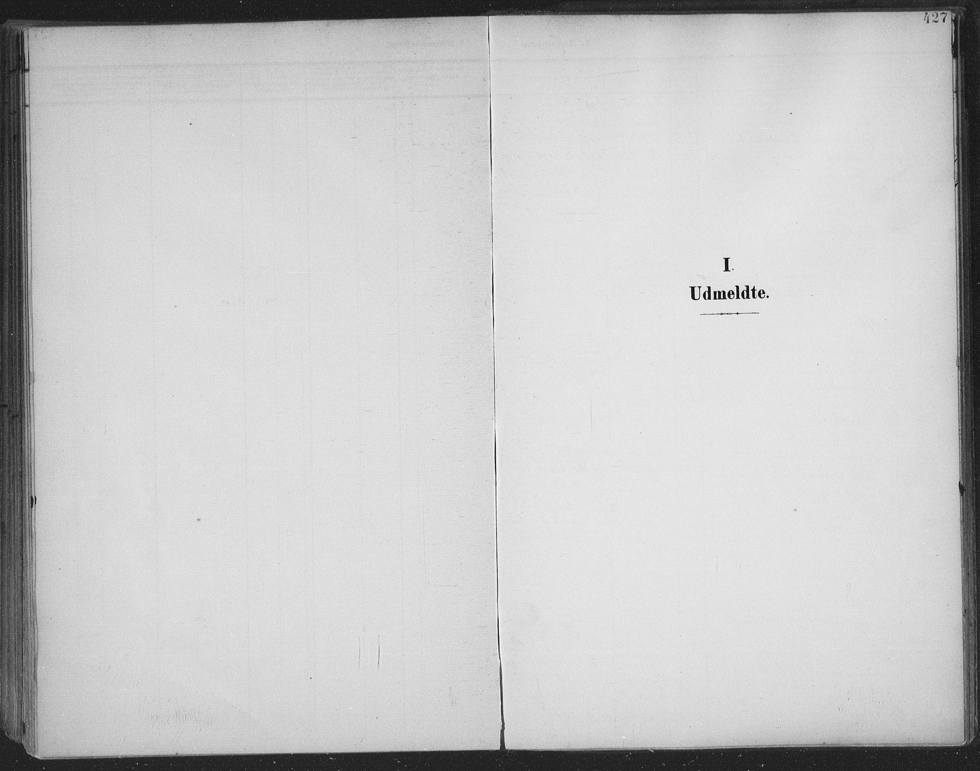 SAKO, Skien kirkebøker, F/Fa/L0011: Ministerialbok nr. 11, 1900-1907, s. 427