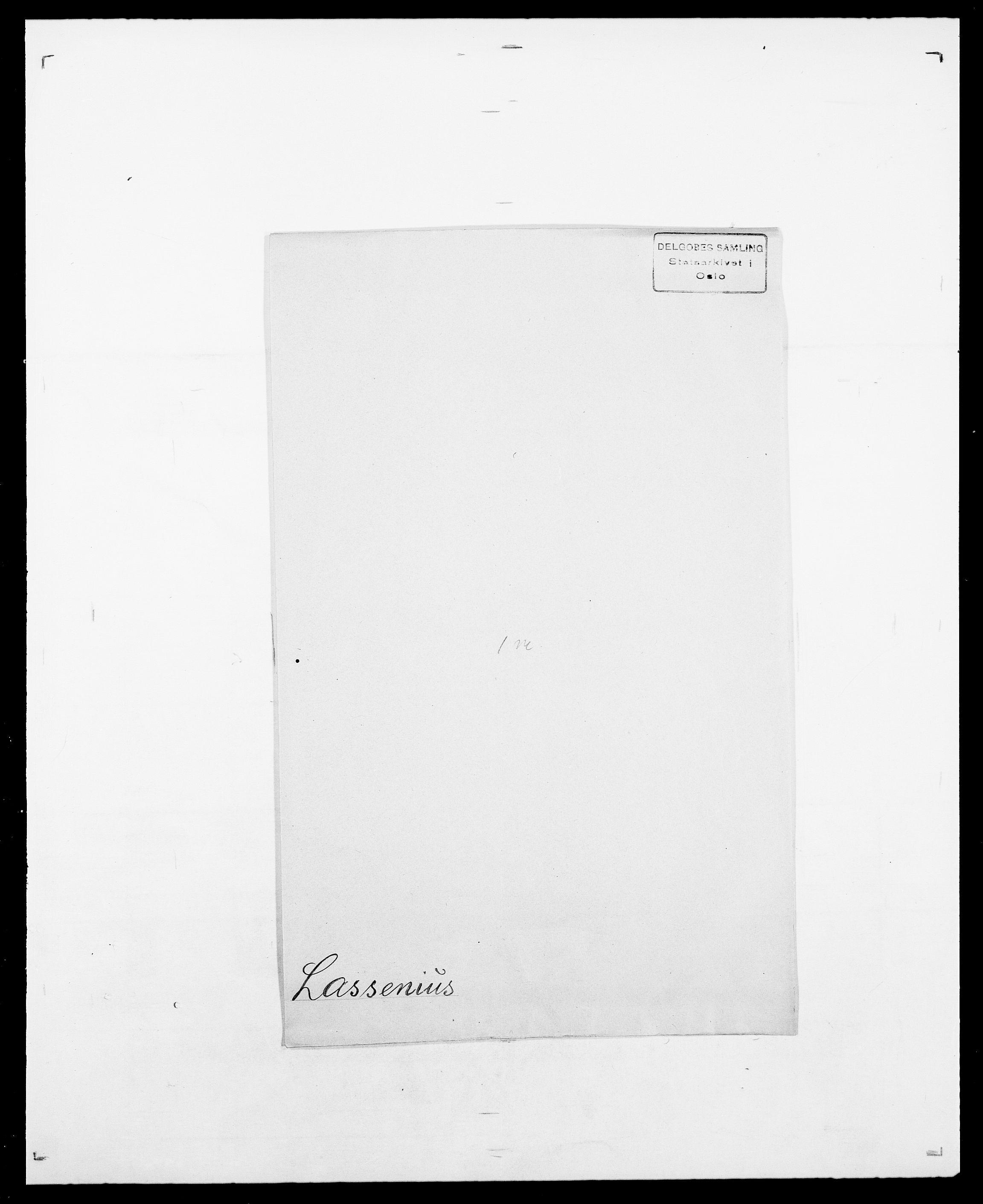 SAO, Delgobe, Charles Antoine - samling, D/Da/L0022: Krog - Lasteen, s. 831