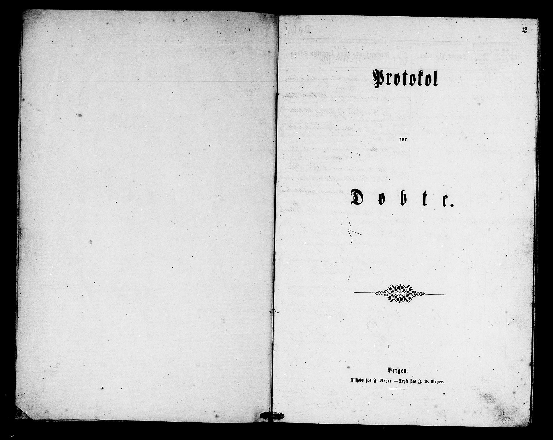 SAB, Aurland Sokneprestembete*, Klokkerbok nr. C 1, 1868-1883, s. 2