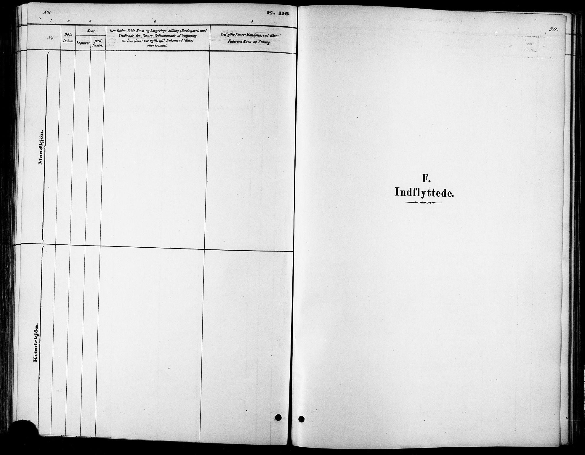 SAT, Ministerialprotokoller, klokkerbøker og fødselsregistre - Møre og Romsdal, 529/L0454: Ministerialbok nr. 529A04, 1878-1885, s. 311