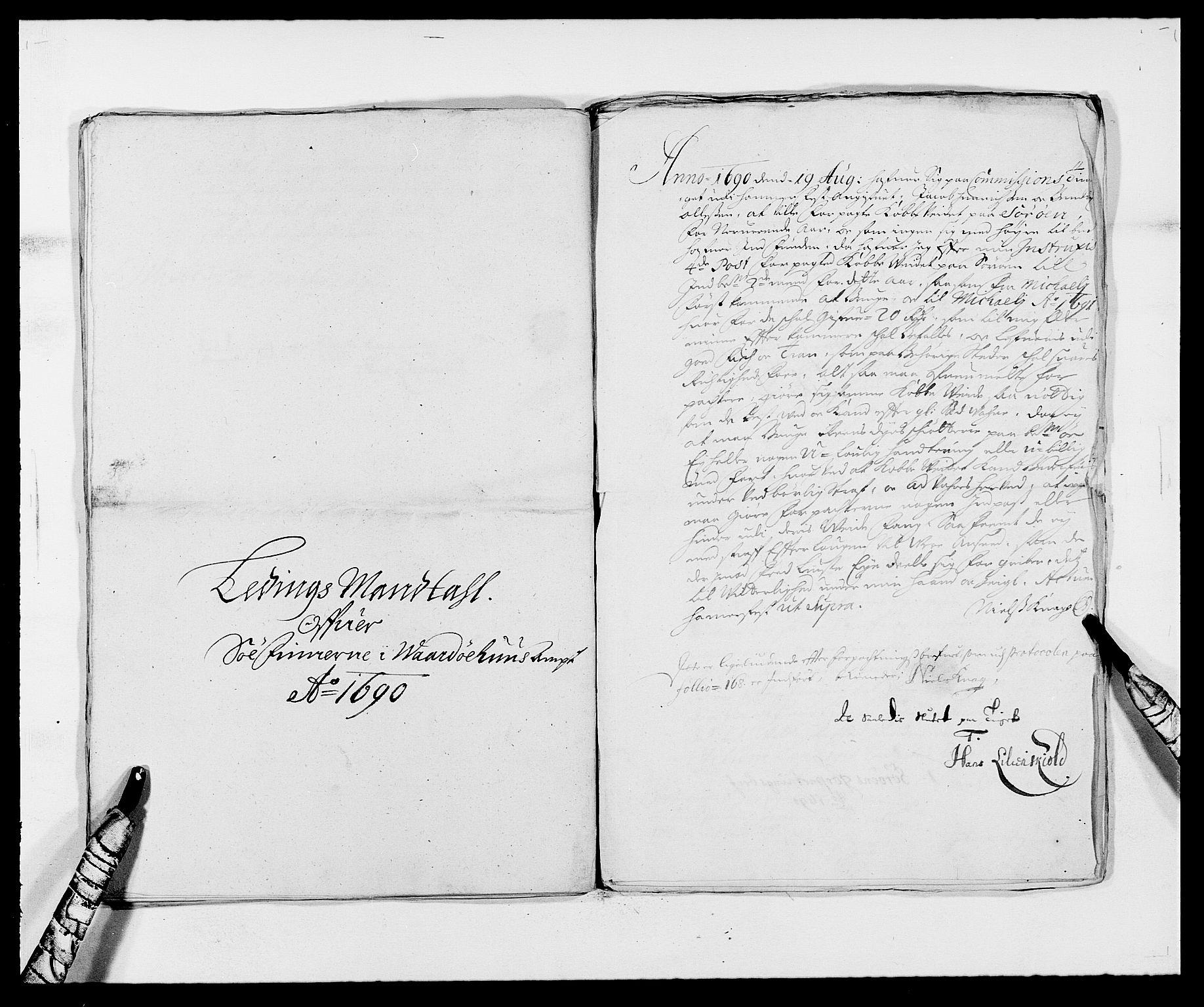 RA, Rentekammeret inntil 1814, Reviderte regnskaper, Fogderegnskap, R69/L4850: Fogderegnskap Finnmark/Vardøhus, 1680-1690, s. 231