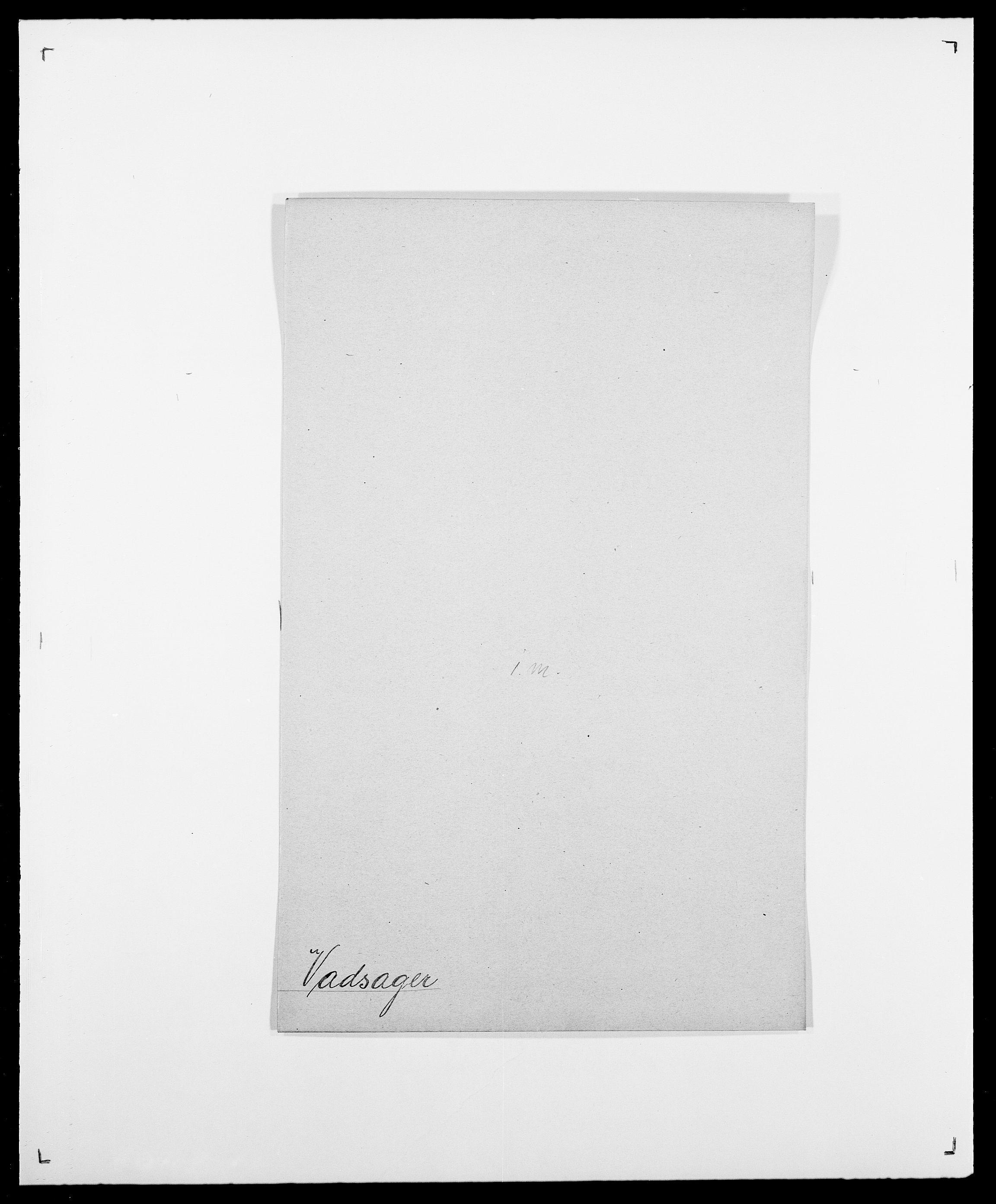 SAO, Delgobe, Charles Antoine - samling, D/Da/L0040: Usgaard - Velund, s. 82
