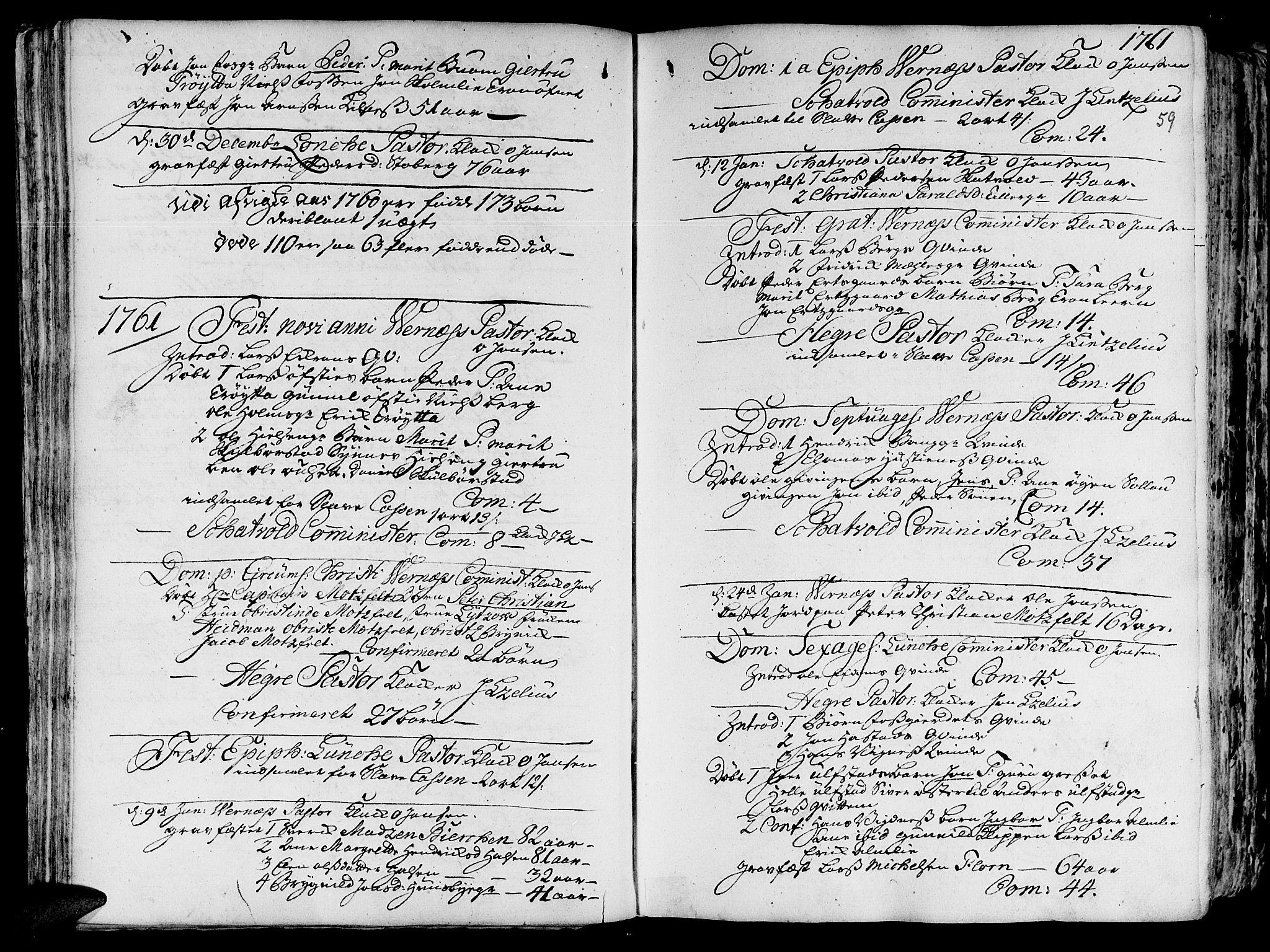 SAT, Ministerialprotokoller, klokkerbøker og fødselsregistre - Nord-Trøndelag, 709/L0057: Ministerialbok nr. 709A05, 1755-1780, s. 59