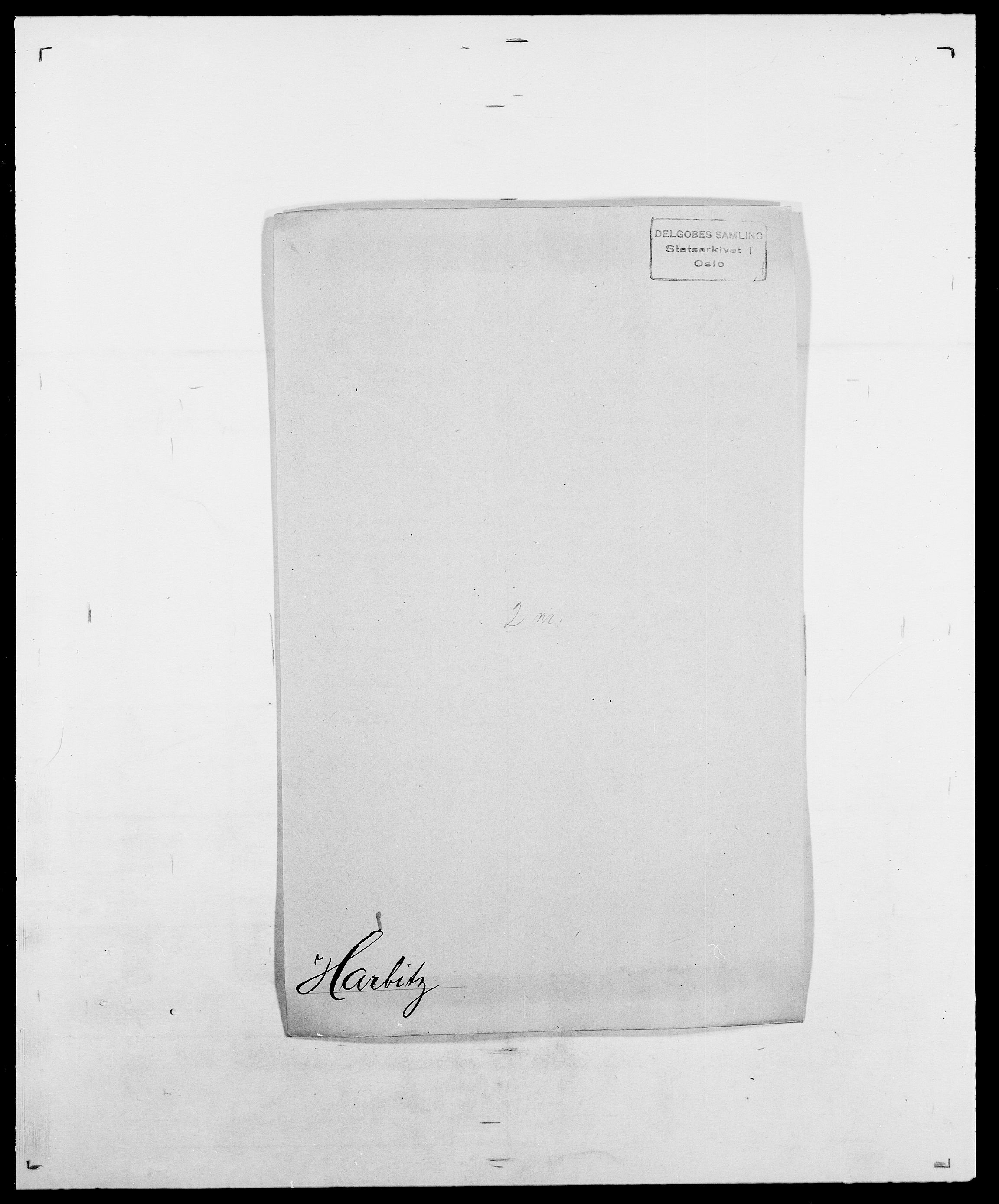 SAO, Delgobe, Charles Antoine - samling, D/Da/L0016: Hamborg - Hektoen, s. 372