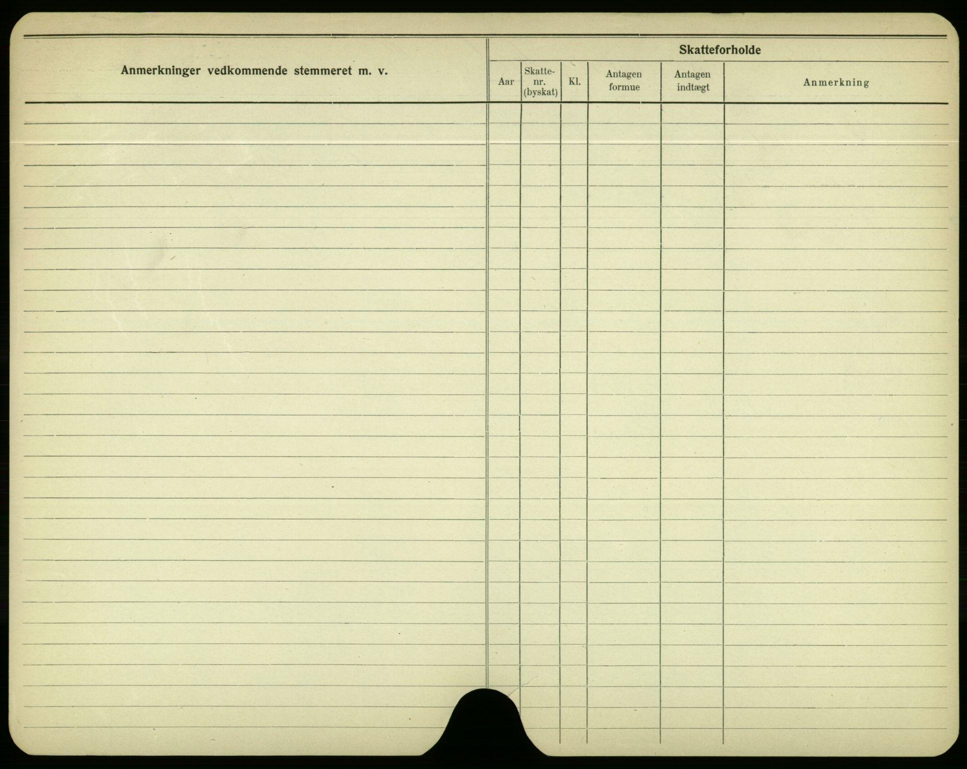 SAO, Oslo folkeregister, Registerkort, F/Fa/Fac/L0003: Menn, 1906-1914, s. 1226b
