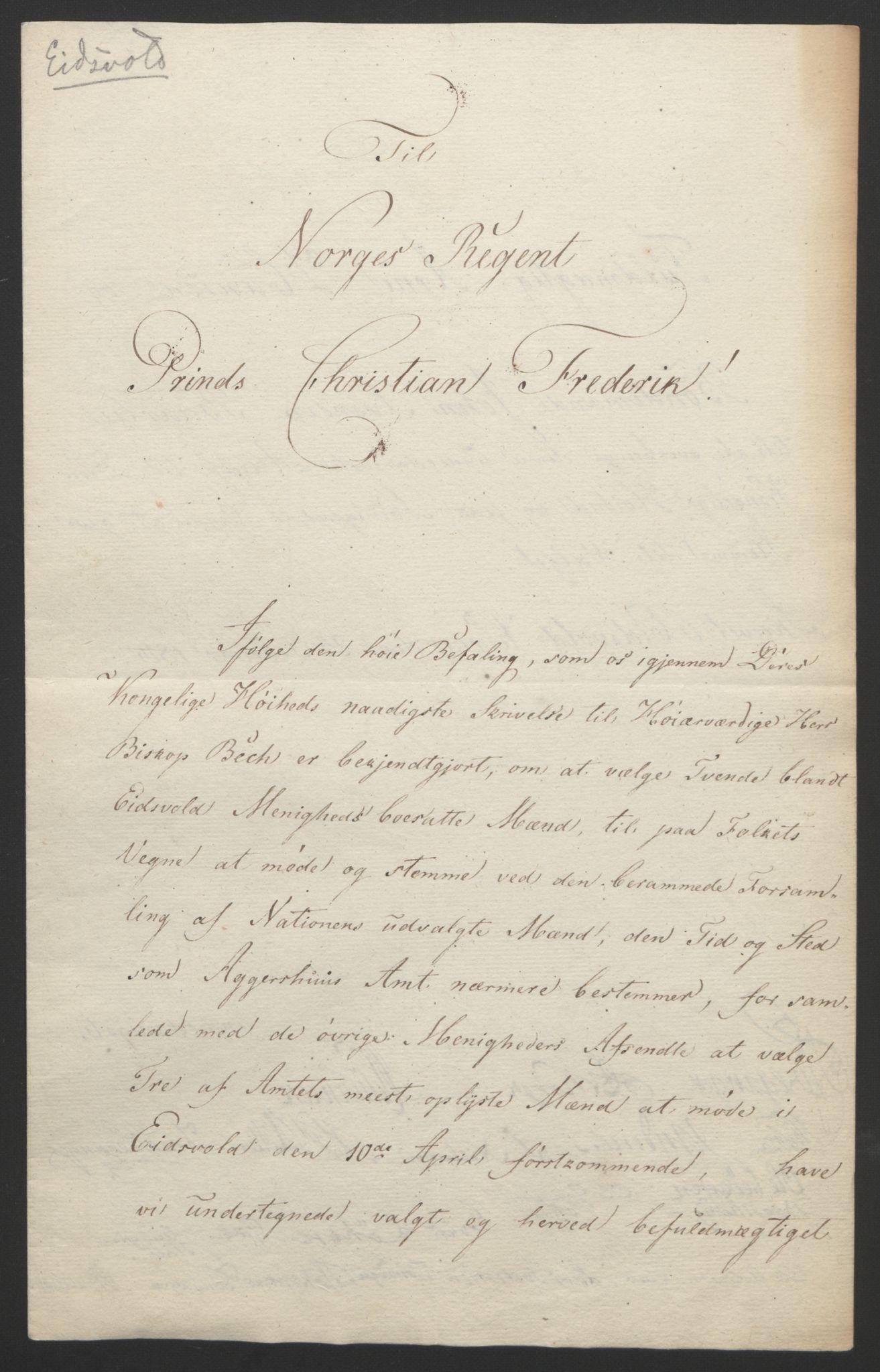 RA, Statsrådssekretariatet, D/Db/L0007: Fullmakter for Eidsvollsrepresentantene i 1814. , 1814, s. 178