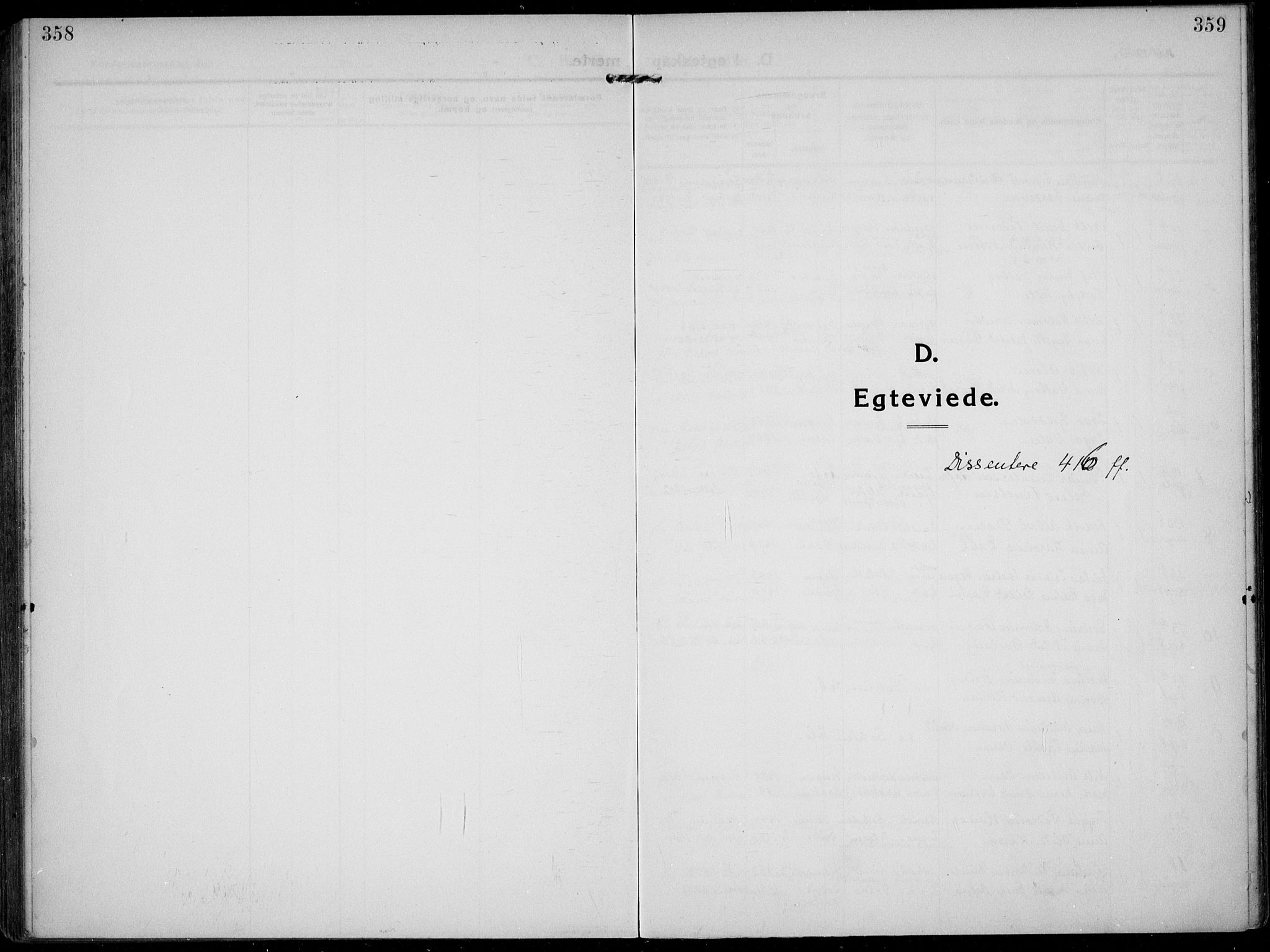 SAKO, Solum kirkebøker, F/Fb/L0004: Ministerialbok nr. II 4, 1913-1924, s. 358-359