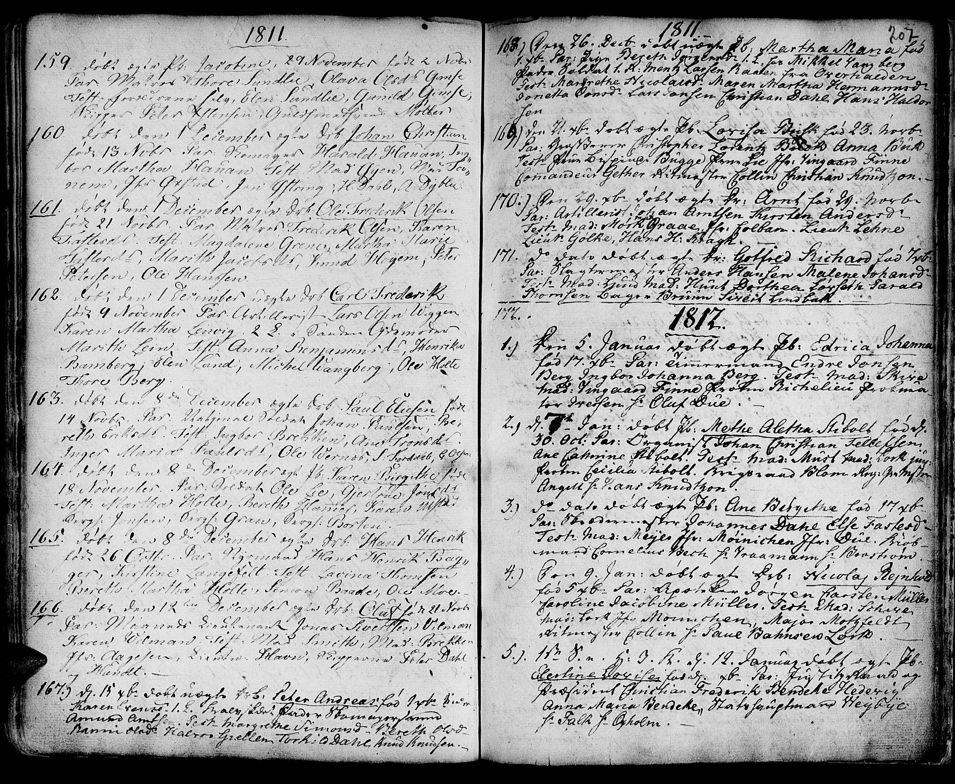 SAT, Ministerialprotokoller, klokkerbøker og fødselsregistre - Sør-Trøndelag, 601/L0039: Ministerialbok nr. 601A07, 1770-1819, s. 207