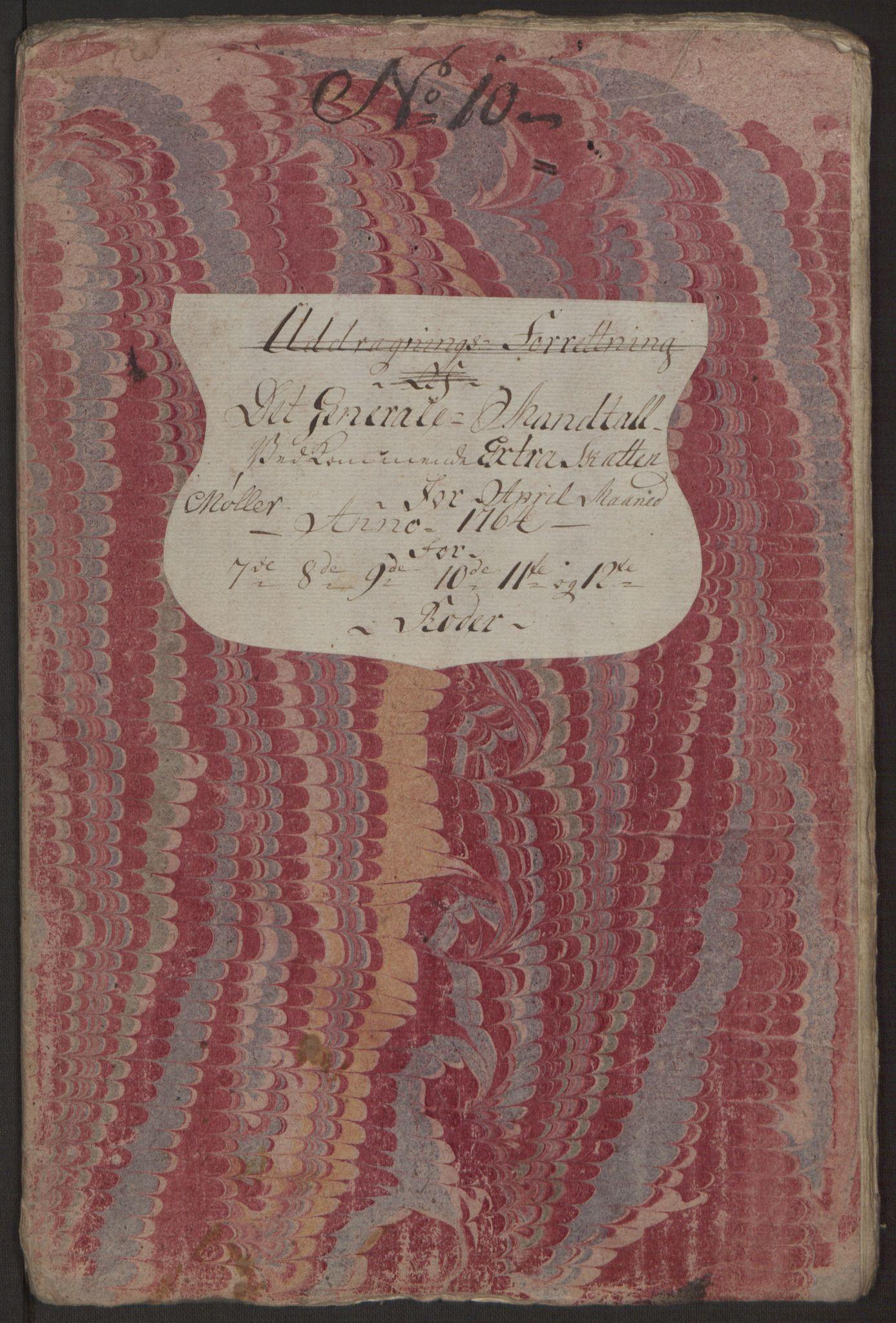 RA, Rentekammeret inntil 1814, Reviderte regnskaper, Byregnskaper, R/Rp/L0367: [P21] Kontribusjonsregnskap, 1764, s. 241