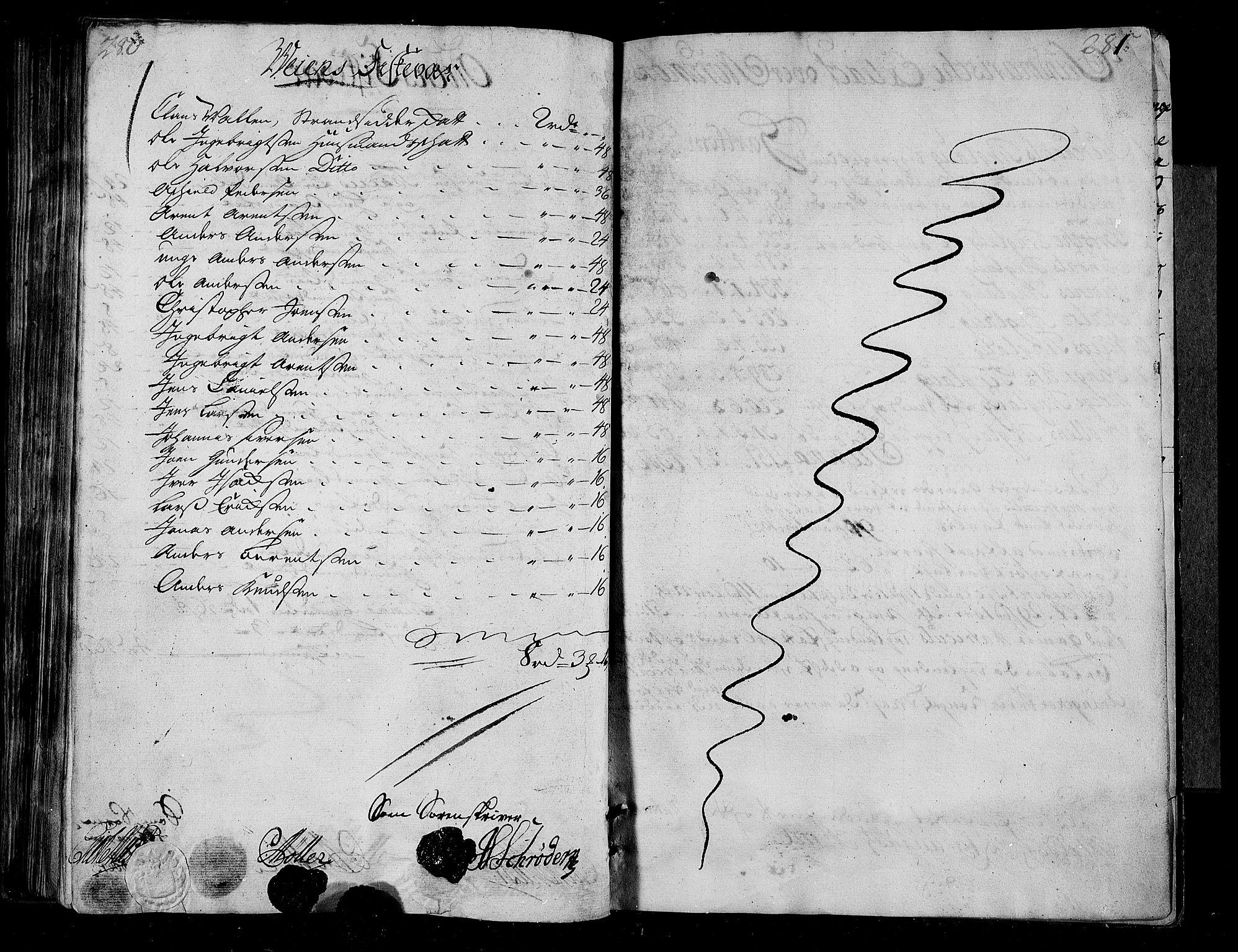 RA, Rentekammeret inntil 1814, Realistisk ordnet avdeling, N/Nb/Nbf/L0155: Nordmøre matrikkelprotokoll, 1721-1723, s. 280-281
