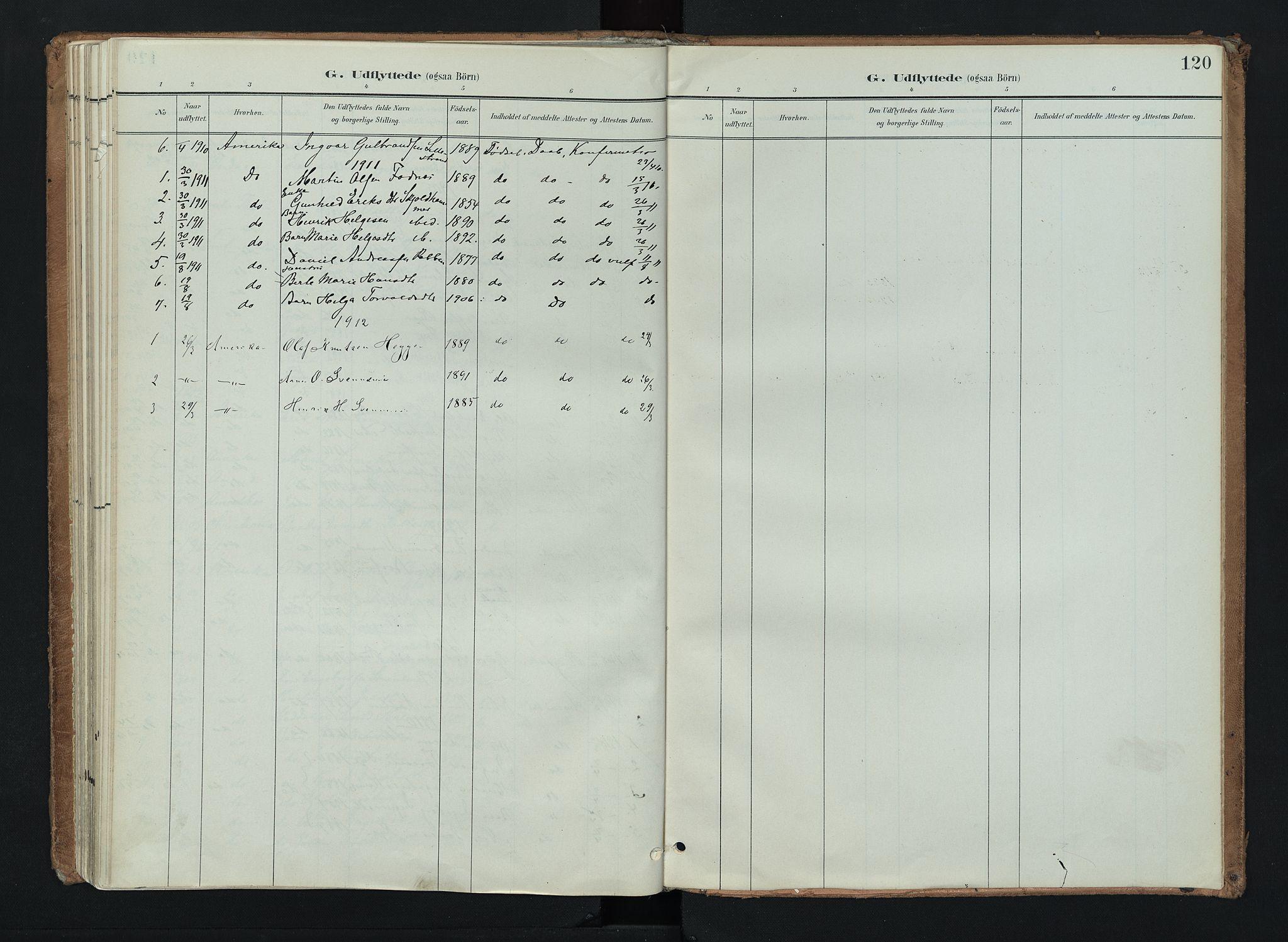 SAH, Nord-Aurdal prestekontor, Ministerialbok nr. 16, 1897-1925, s. 120