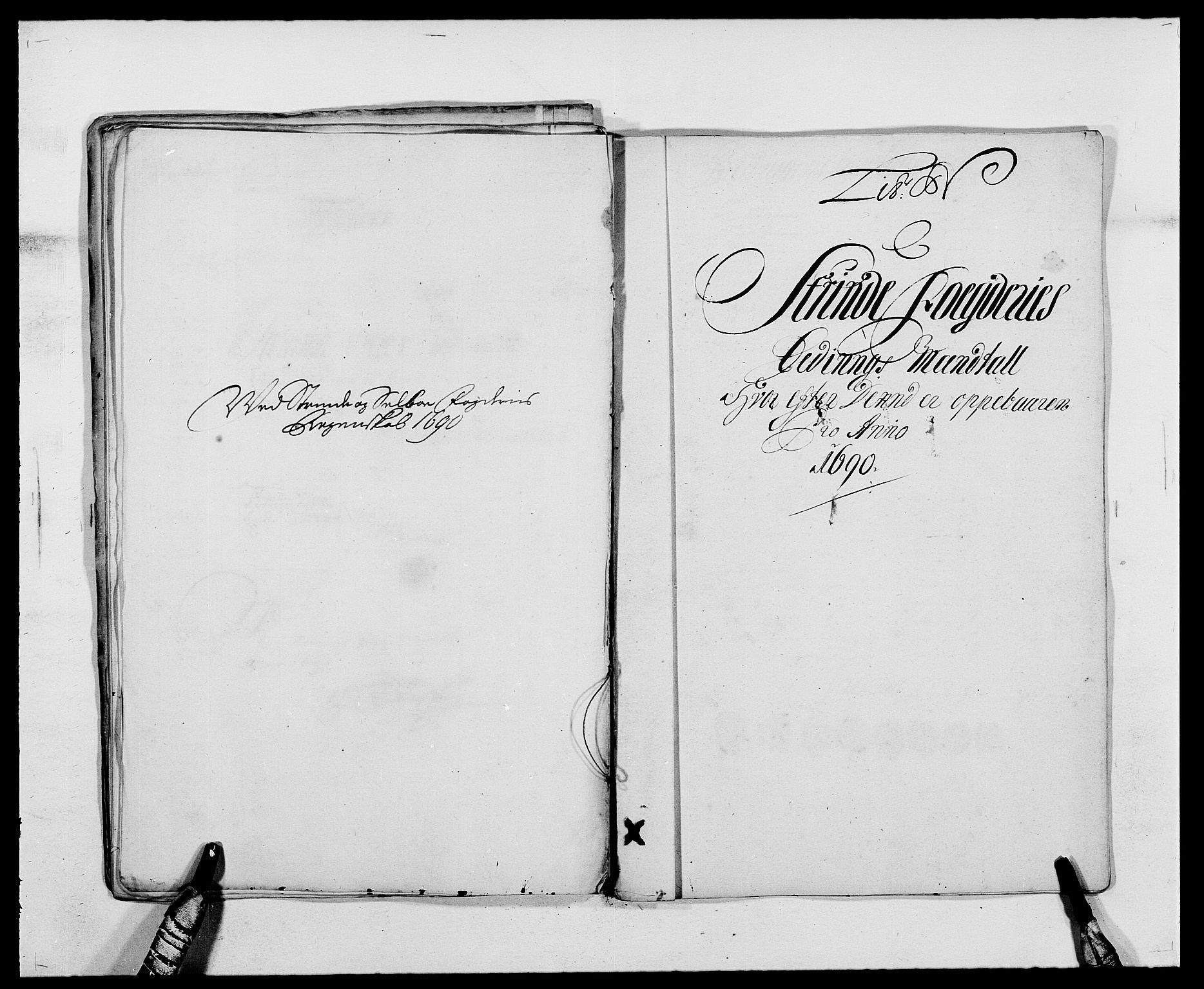 RA, Rentekammeret inntil 1814, Reviderte regnskaper, Fogderegnskap, R61/L4102: Fogderegnskap Strinda og Selbu, 1689-1690, s. 244