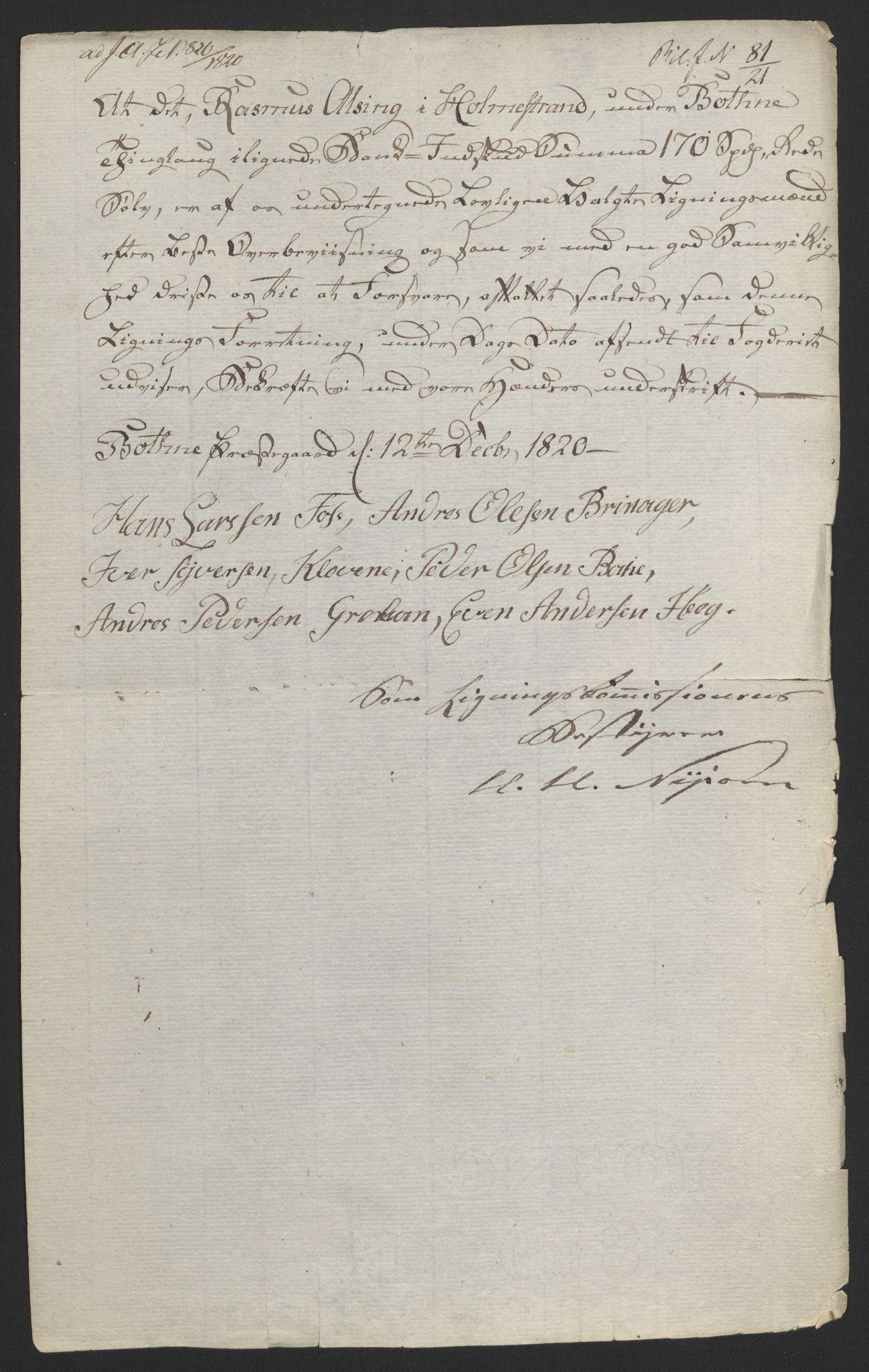 NOBA, Norges Bank/Sølvskatten 1816*, 1816-1824, s. 59