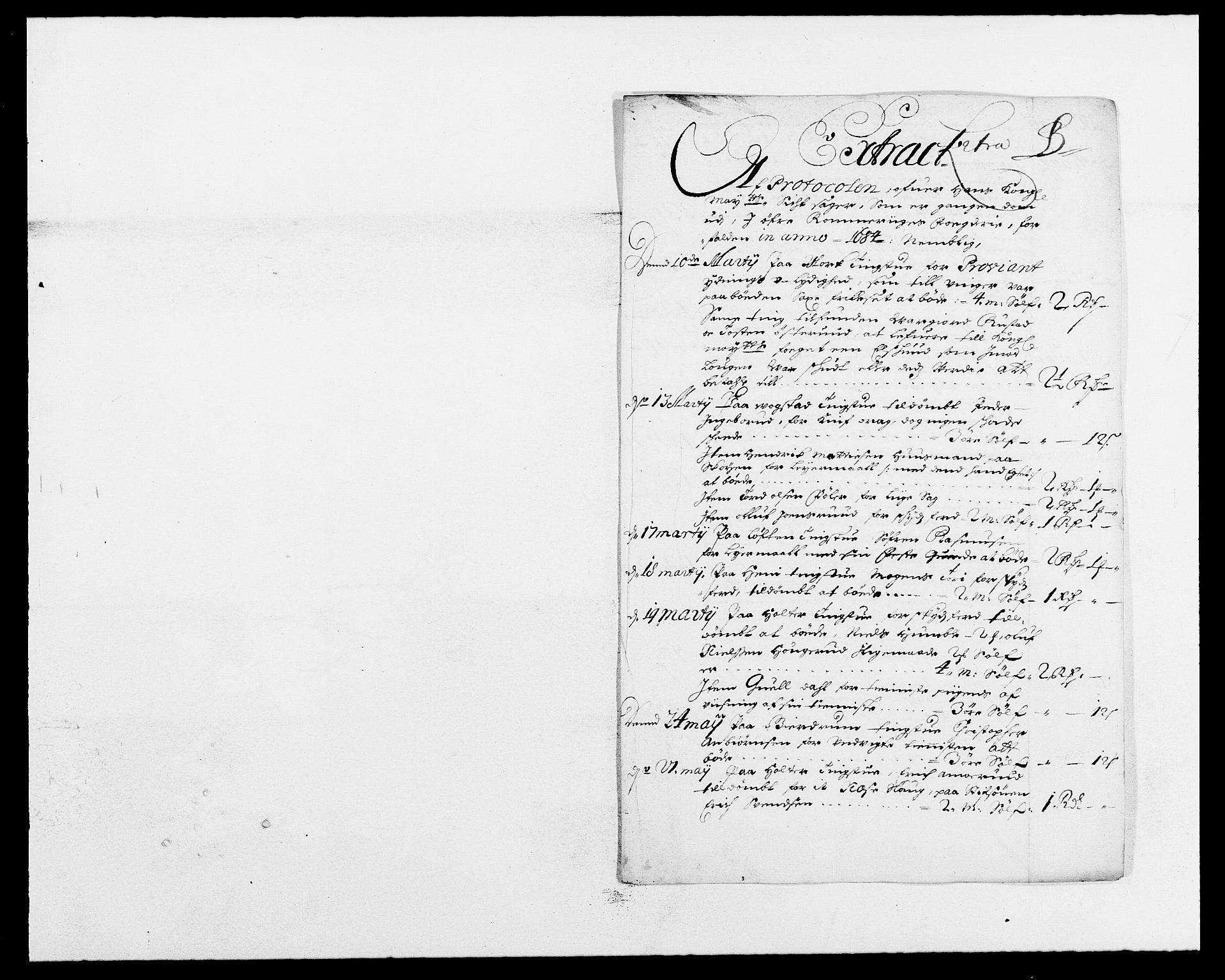 RA, Rentekammeret inntil 1814, Reviderte regnskaper, Fogderegnskap, R12/L0698: Fogderegnskap Øvre Romerike, 1684, s. 33