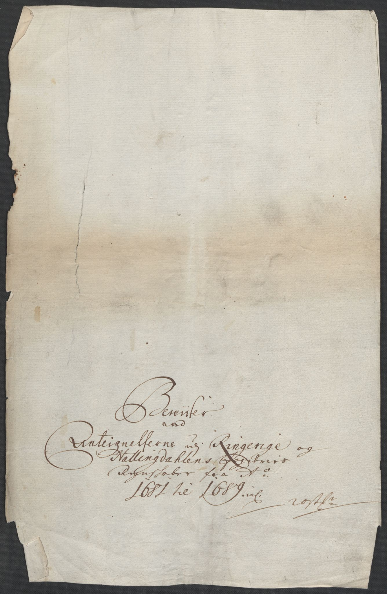RA, Rentekammeret inntil 1814, Reviderte regnskaper, Fogderegnskap, R21/L1449: Fogderegnskap Ringerike og Hallingdal, 1690-1692, s. 338