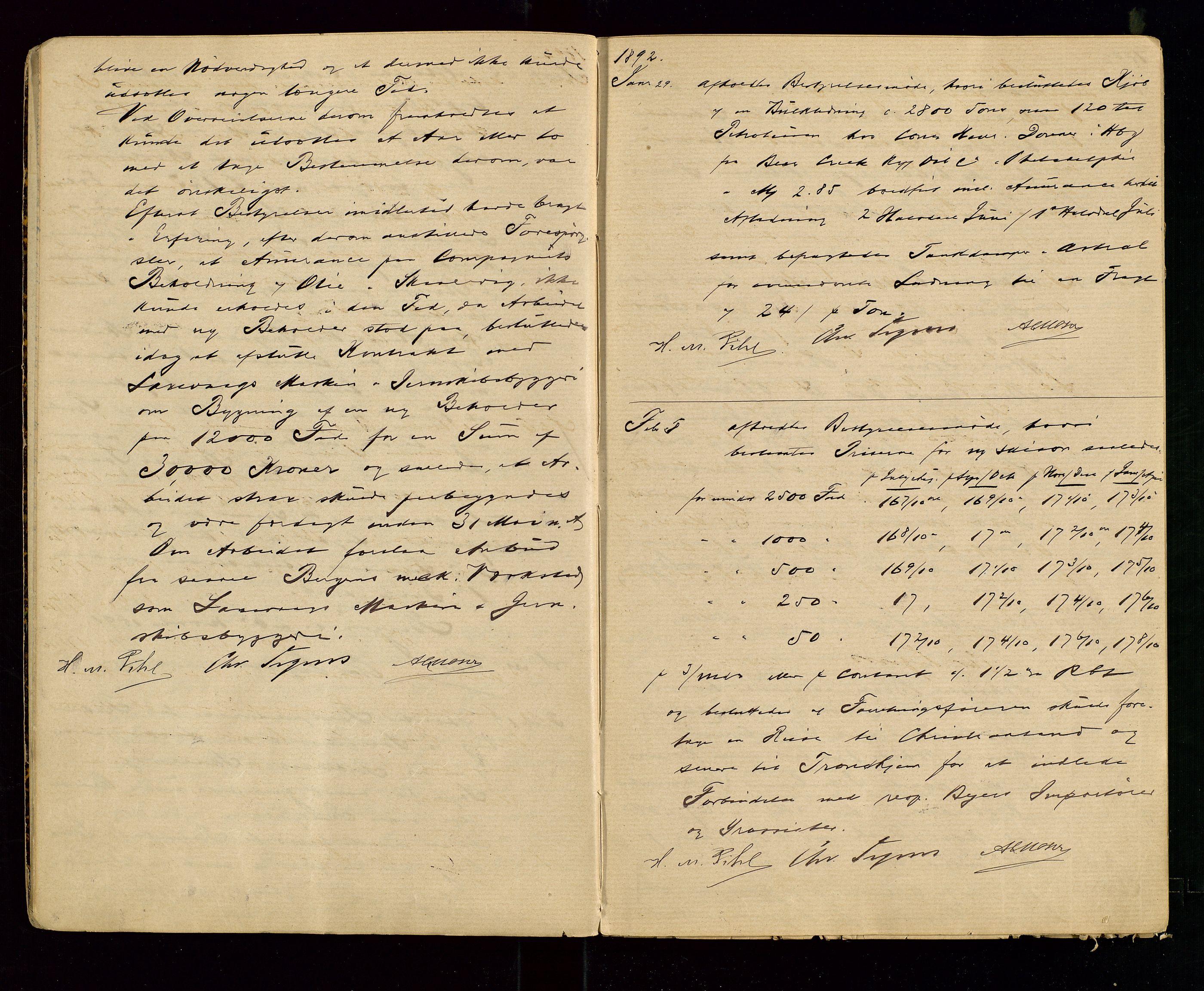 SAST, PA 1533 - A/S Vestlandske Petroleumscompani, A/Aa/L0001: Generalforsamlinger og styreprotokoller, 1890-1907, s. 6